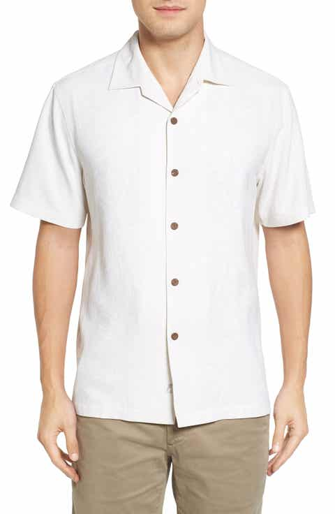 Tommy Bahama Pacific Standard Fit Floral Silk Camp Shirt