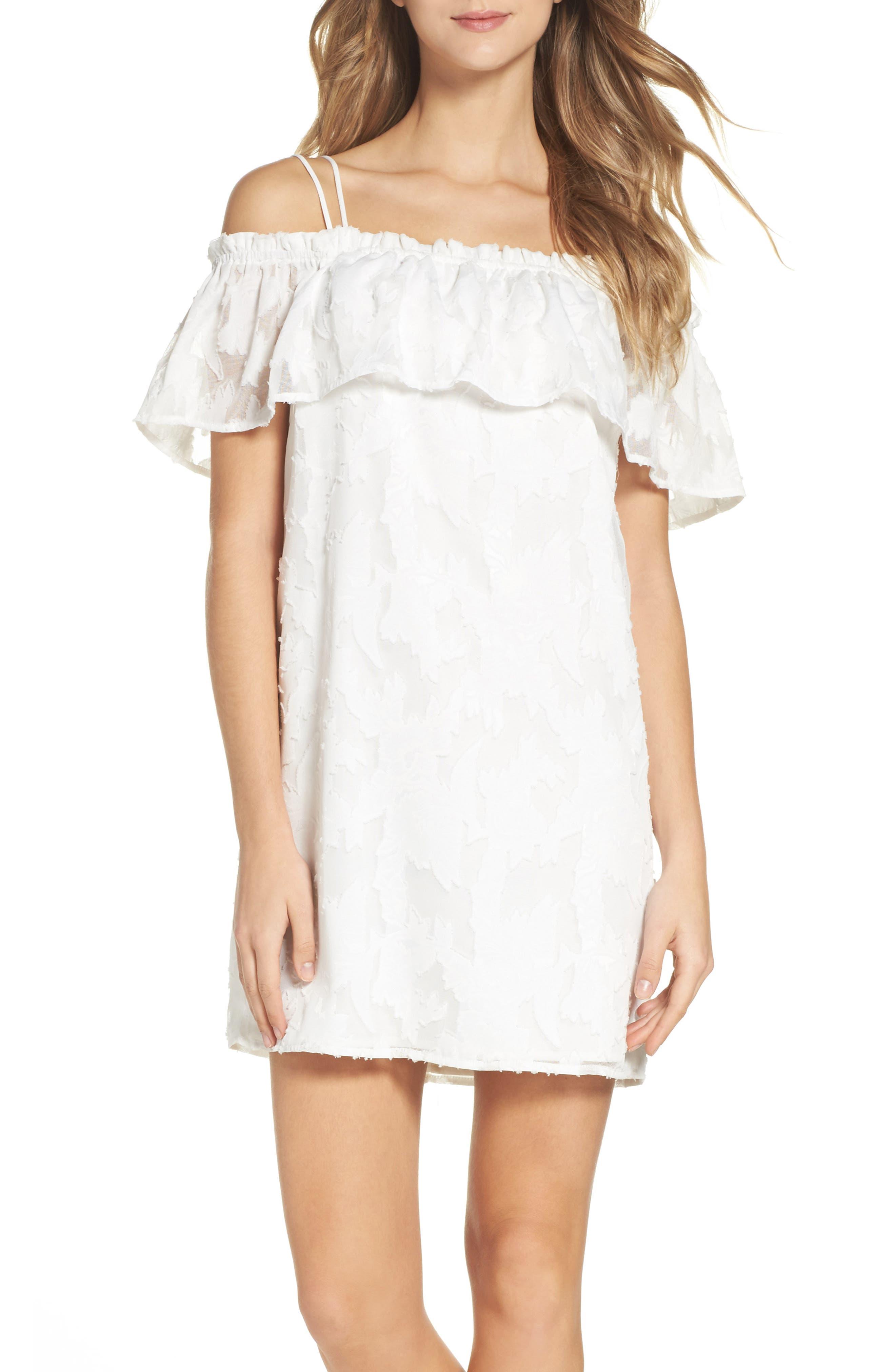Greylin Estelle Off the Shoulder Dress