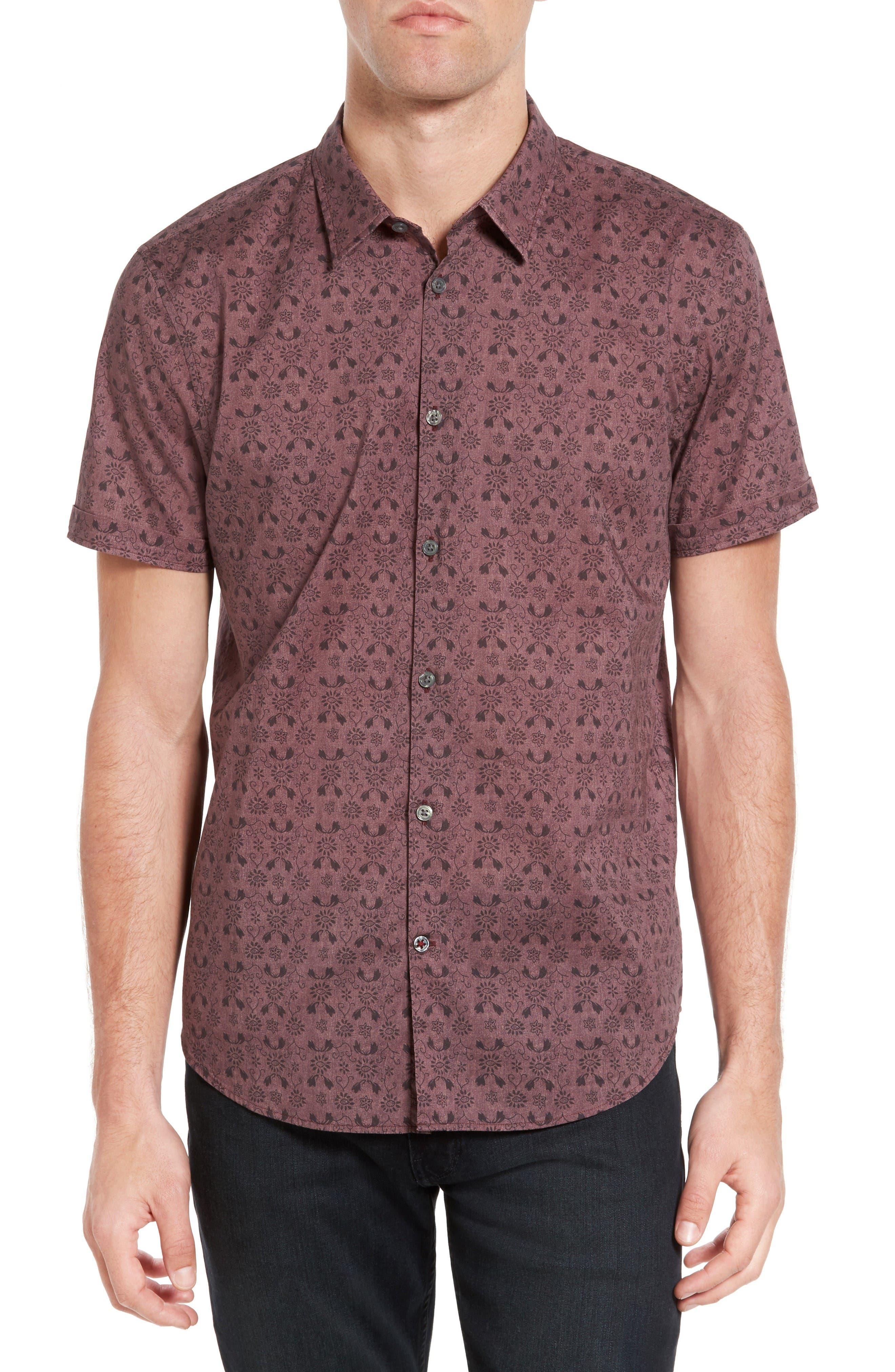 John Varvatos Star USA Cotton Sport Shirt