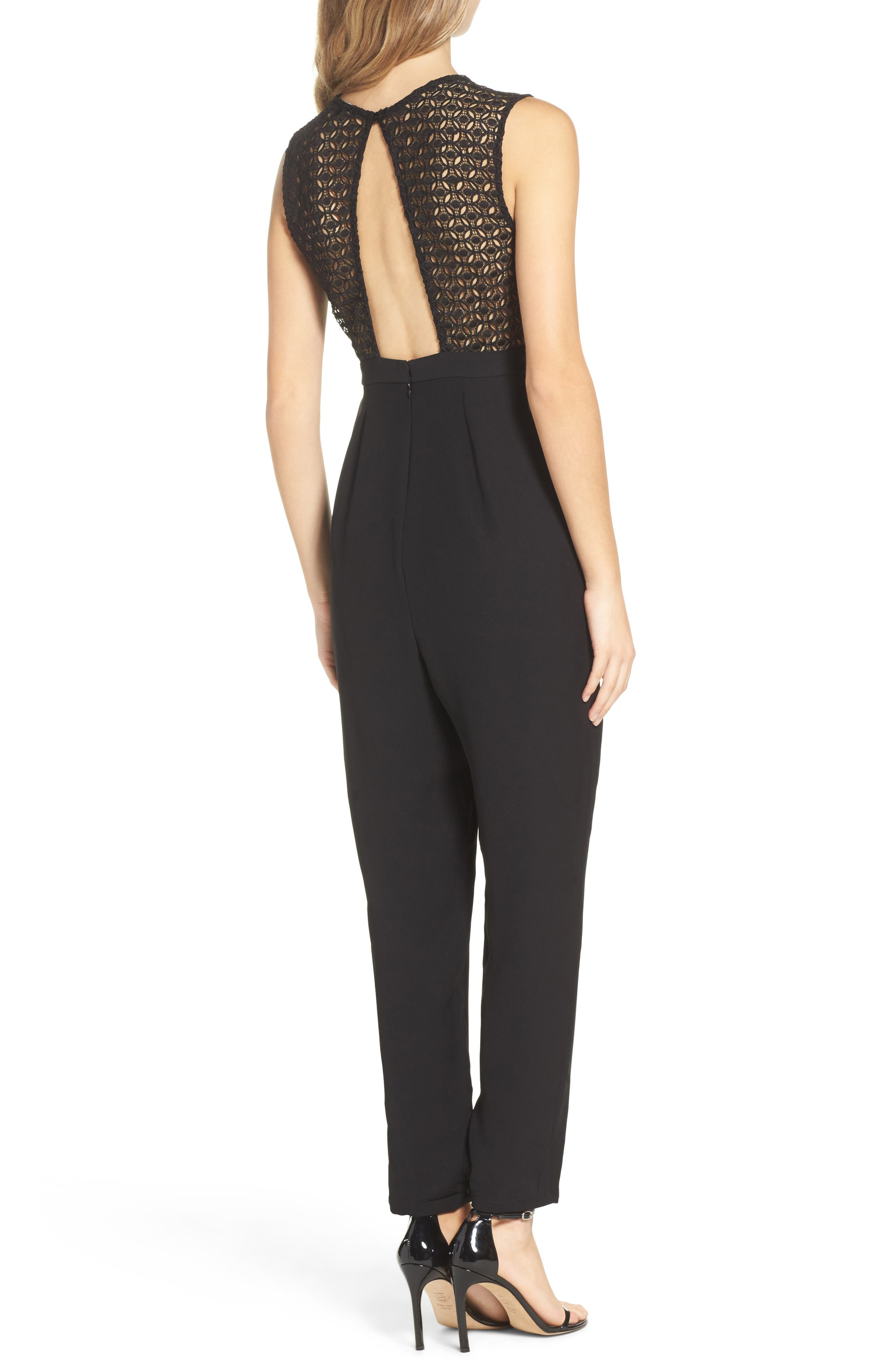 Alternate Image 2  - 19 Cooper Crepe Jumpsuit