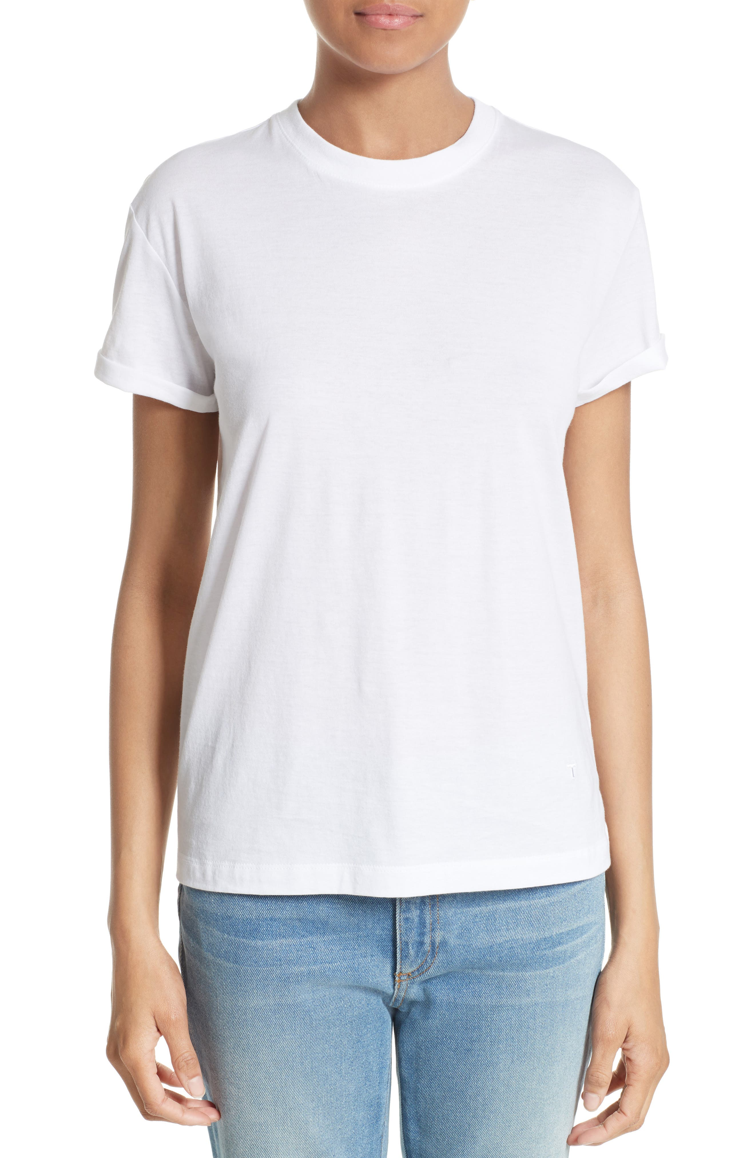 T by Alexander Wang Superfine Jersey Tee