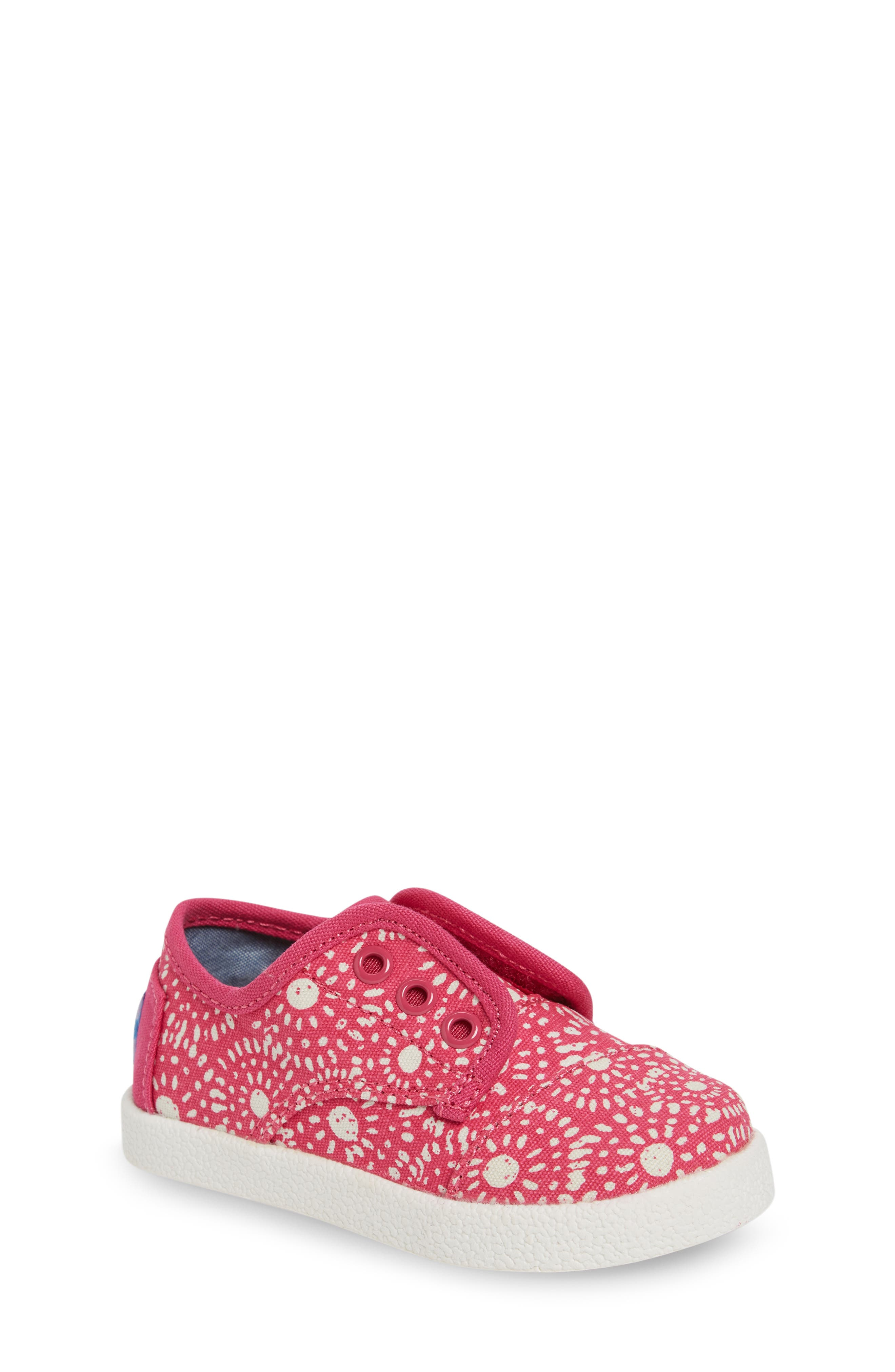 TOMS Paseo Slip-On Sneaker (Baby, Walker & Toddler)