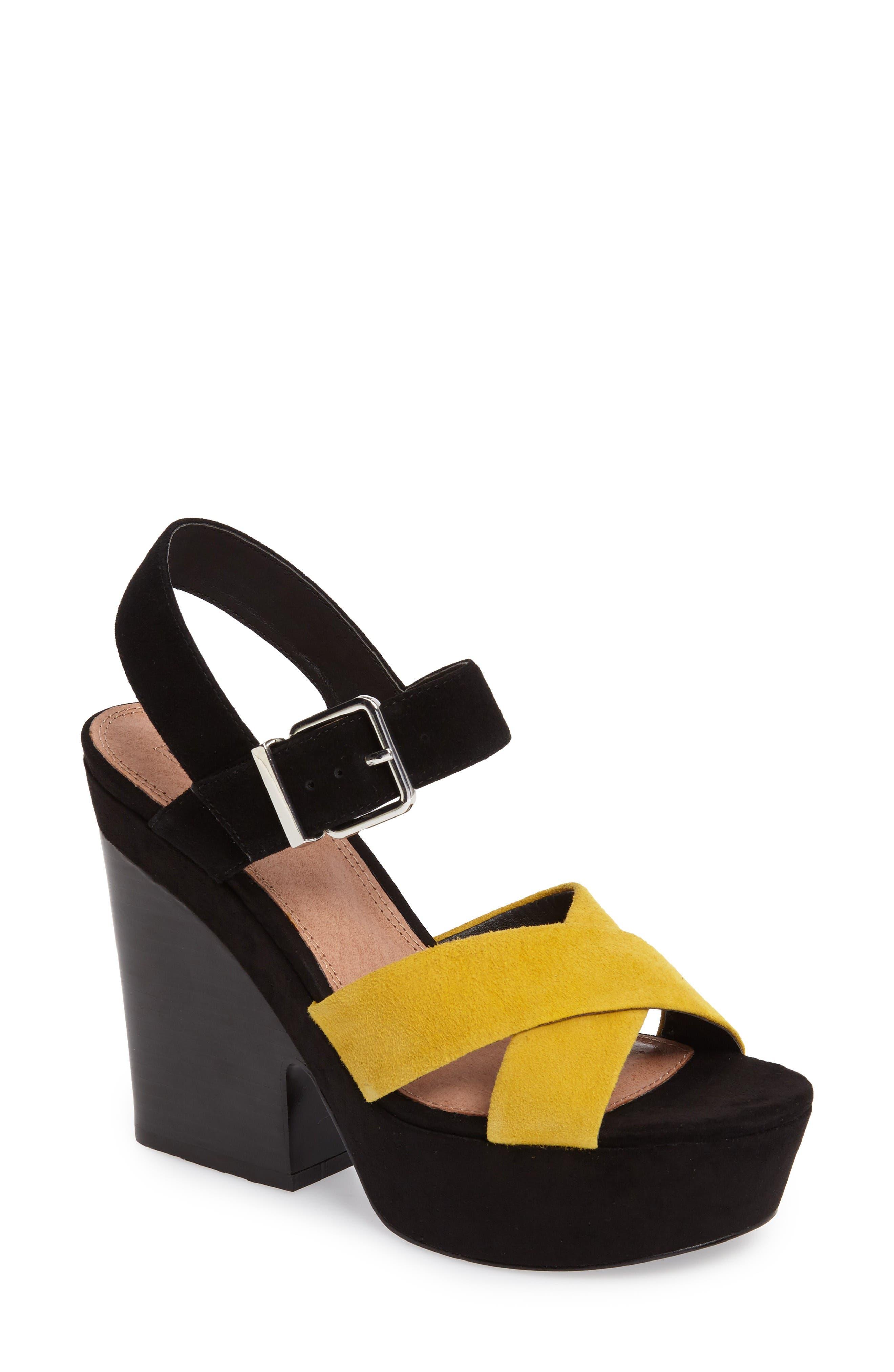 Topshop Layla Platform Sandal (Women)