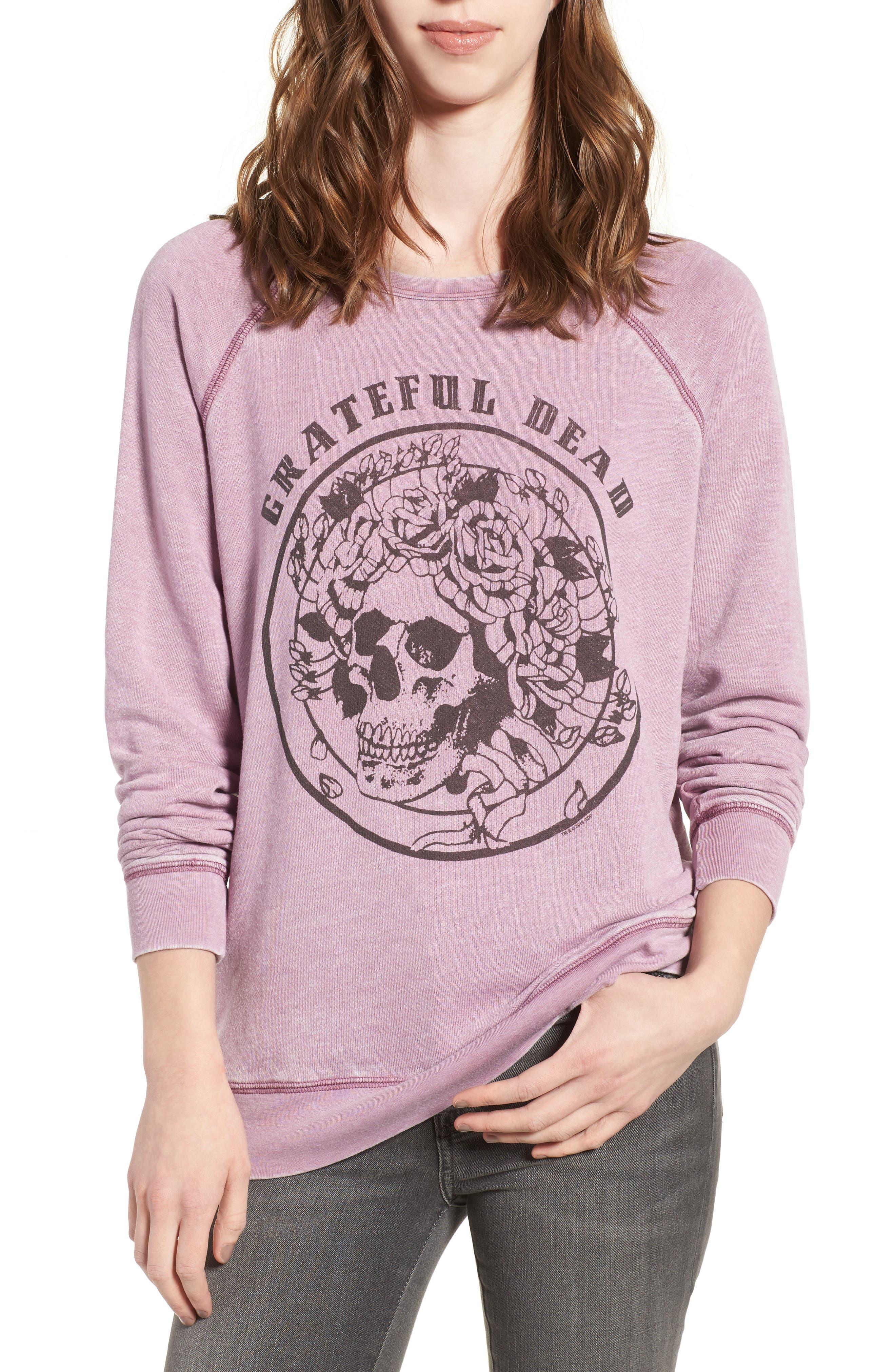 Junk Food Grateful Dead Burnout Sweatshirt