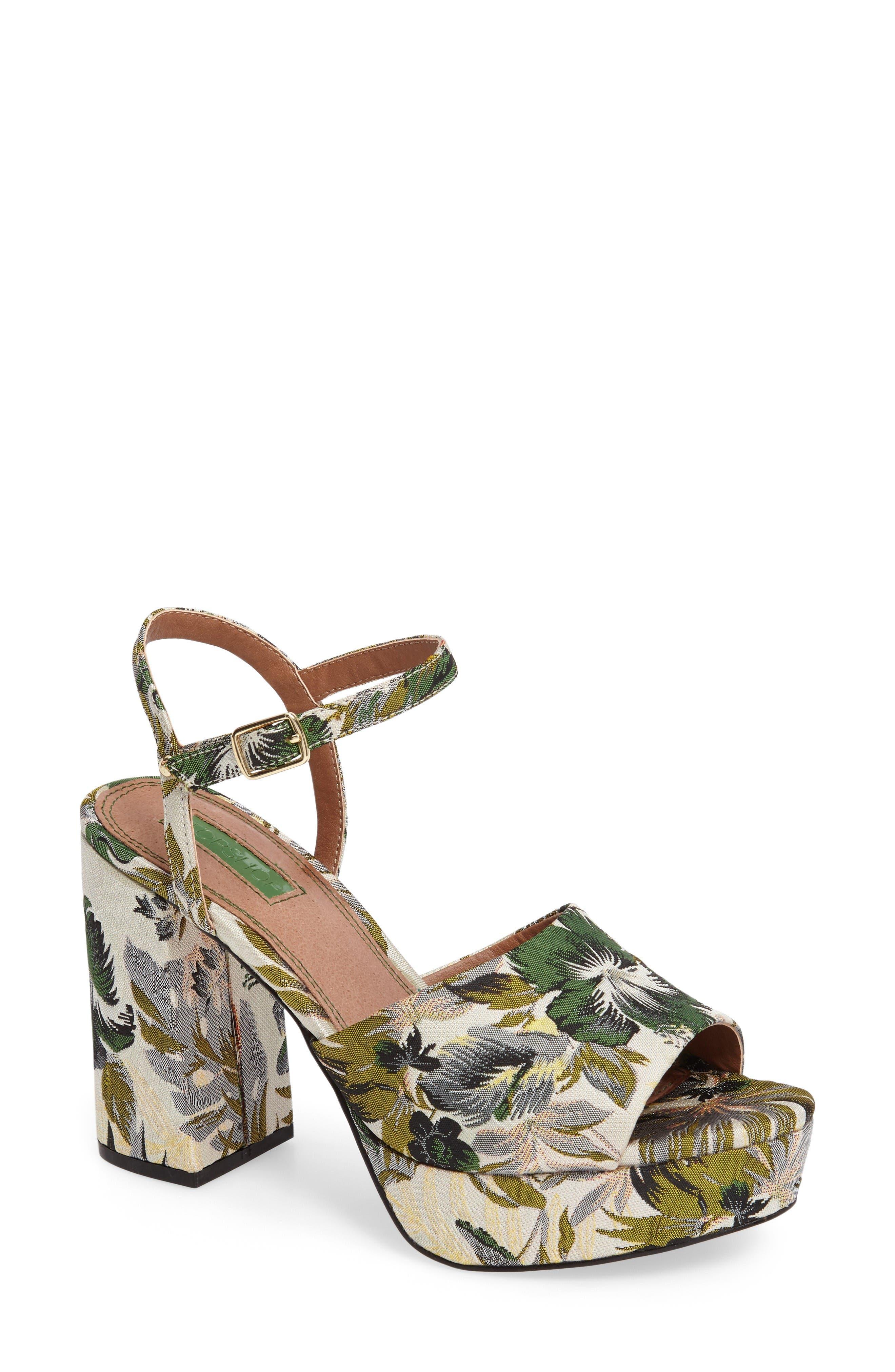 Alternate Image 1 Selected - Topshop Lava Platform Sandal (Women)
