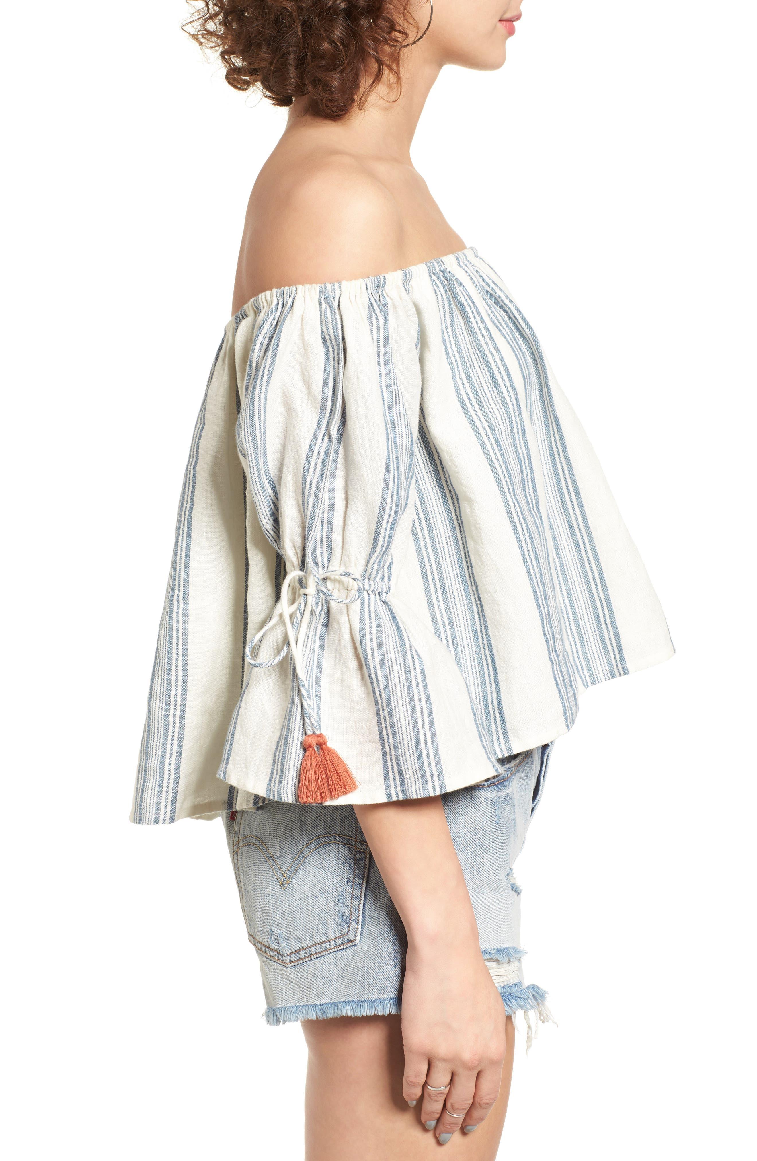 Alternate Image 4  - Tularosa Alexa Off the Shoulder Lace Top