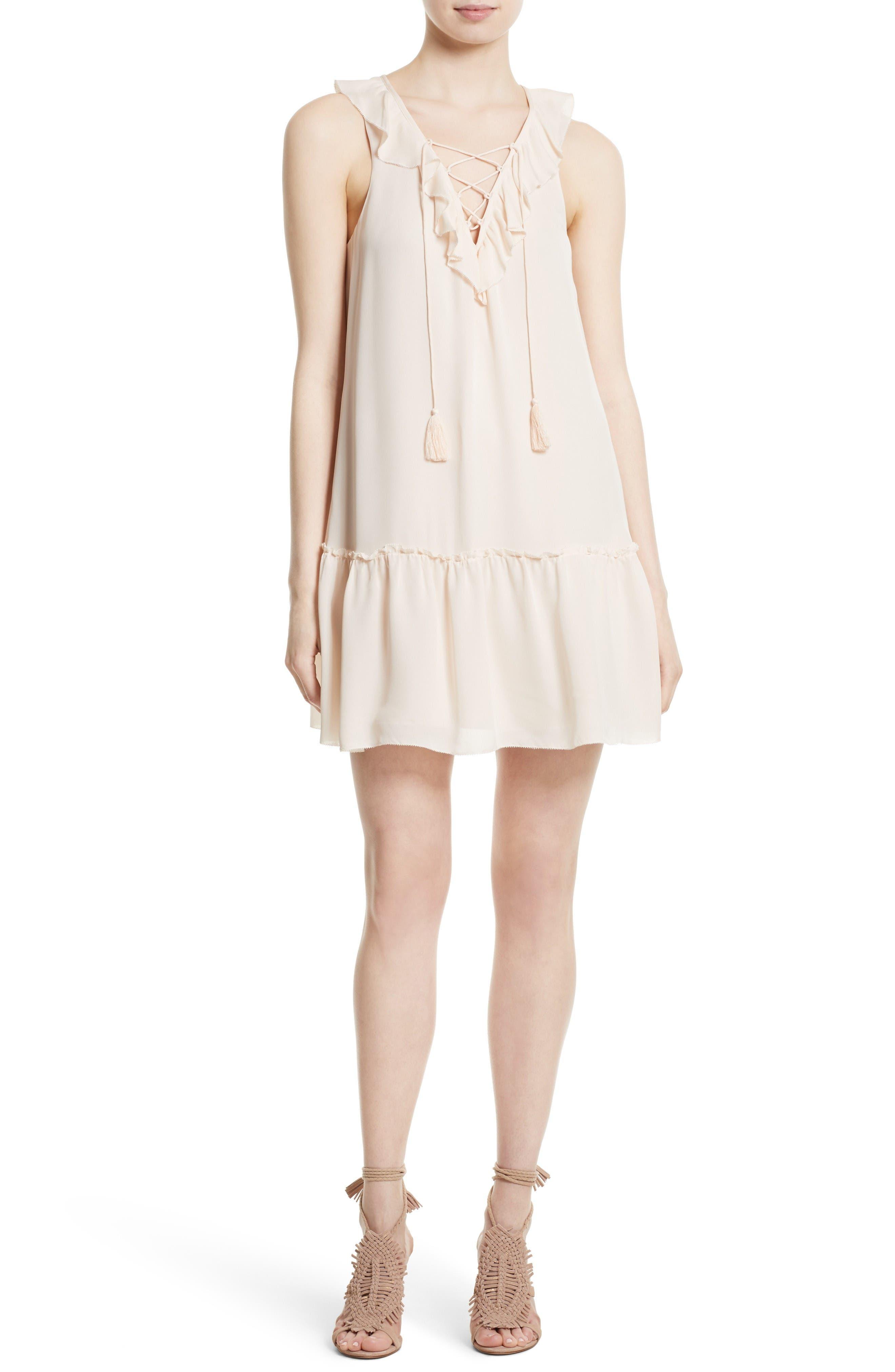Joie Felip Silk Shift Dress