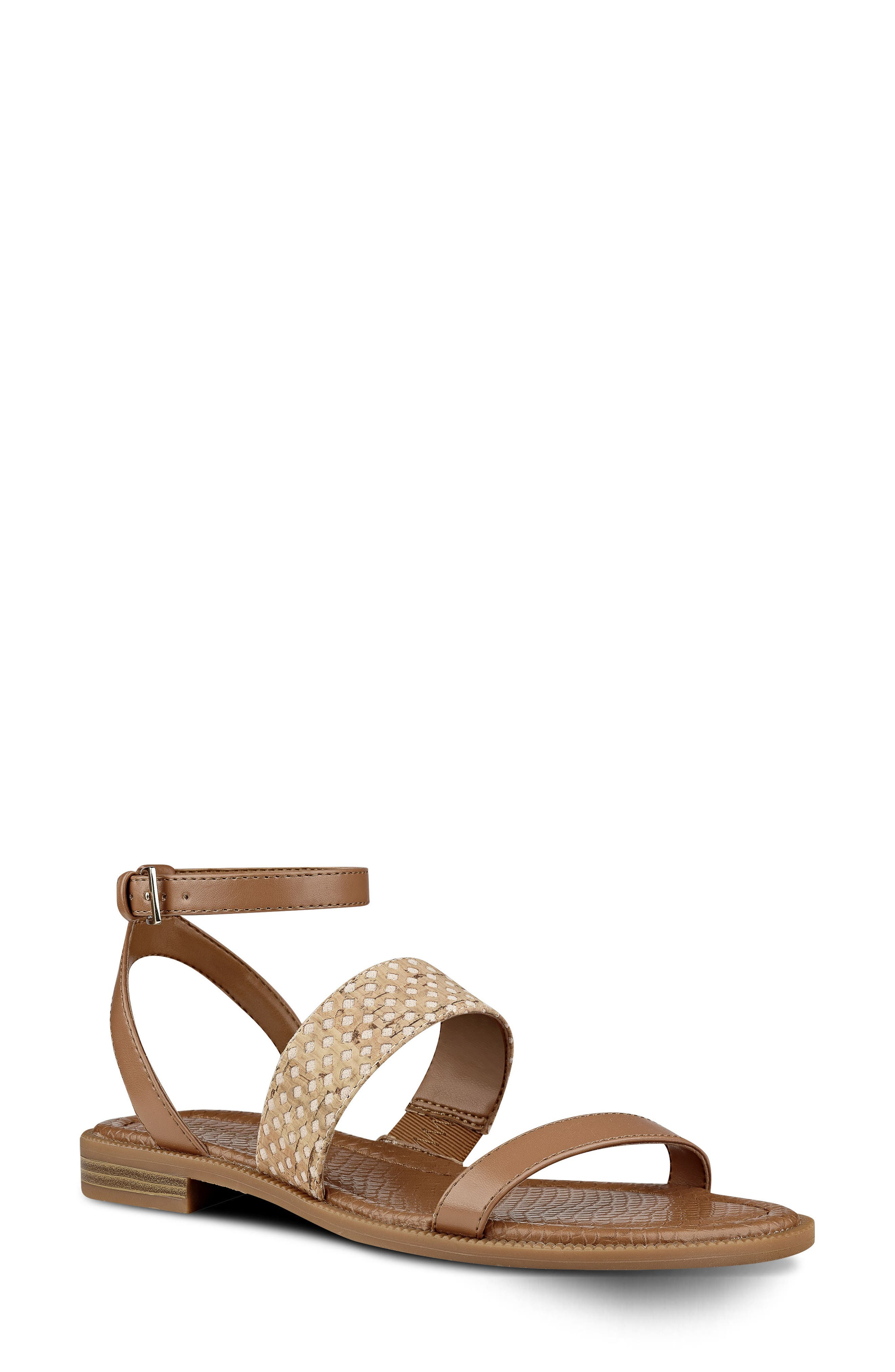 Nine West Xenosa Ankle Strap Sandal (Women)