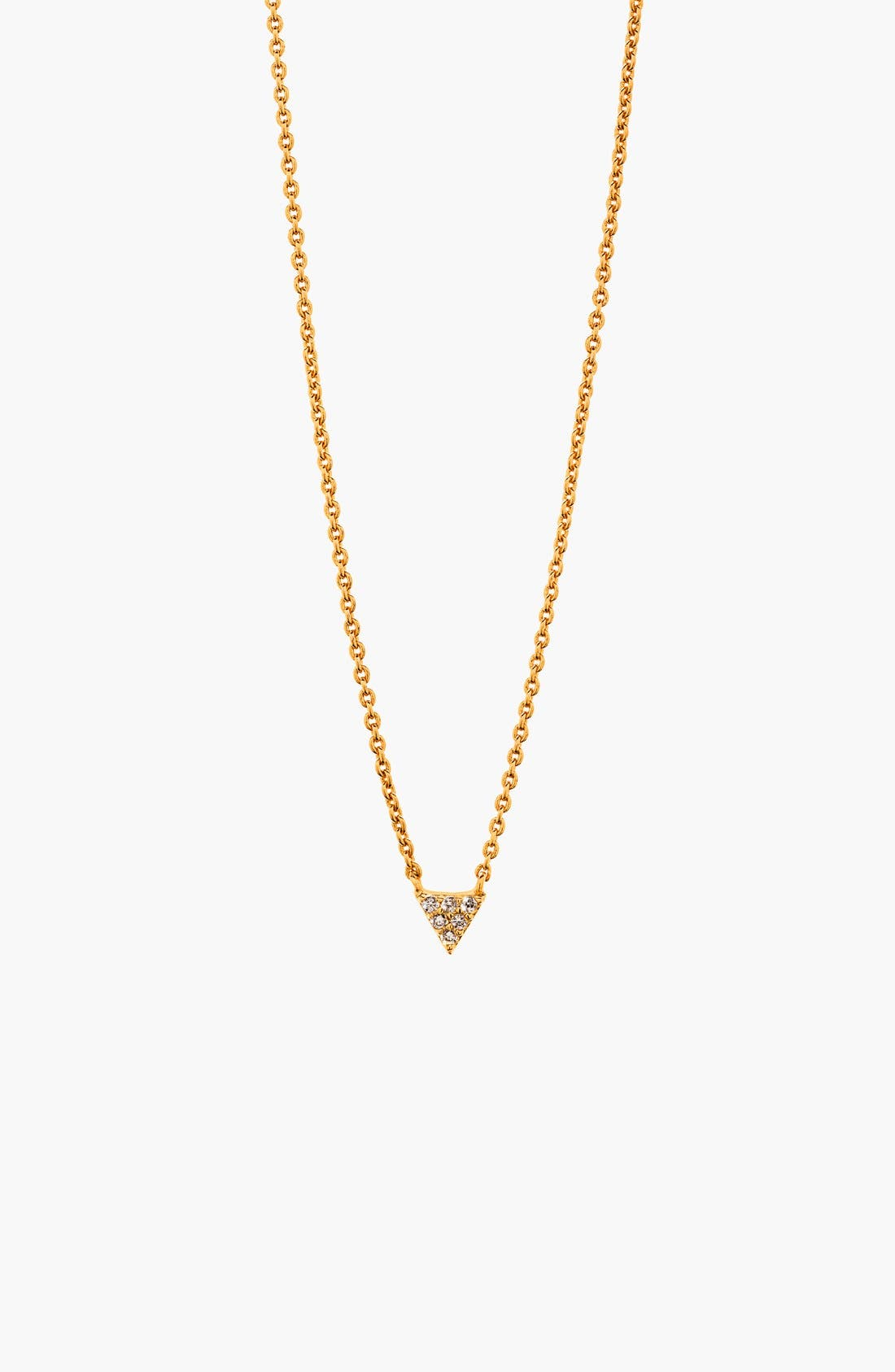 Alternate Image 4  - gorjana 'Shimmer' Triangle Pendant Necklace