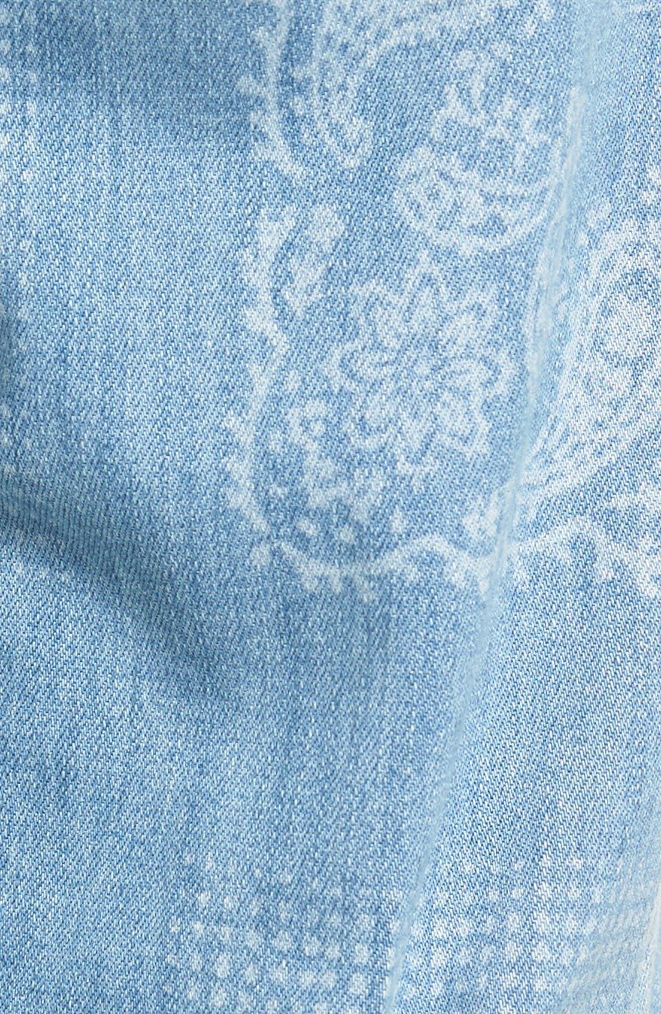 Alternate Image 5  - NYDJ Jessica Print Relaxed Boyfriend Jeans (Bandana) (Regular & Petite)