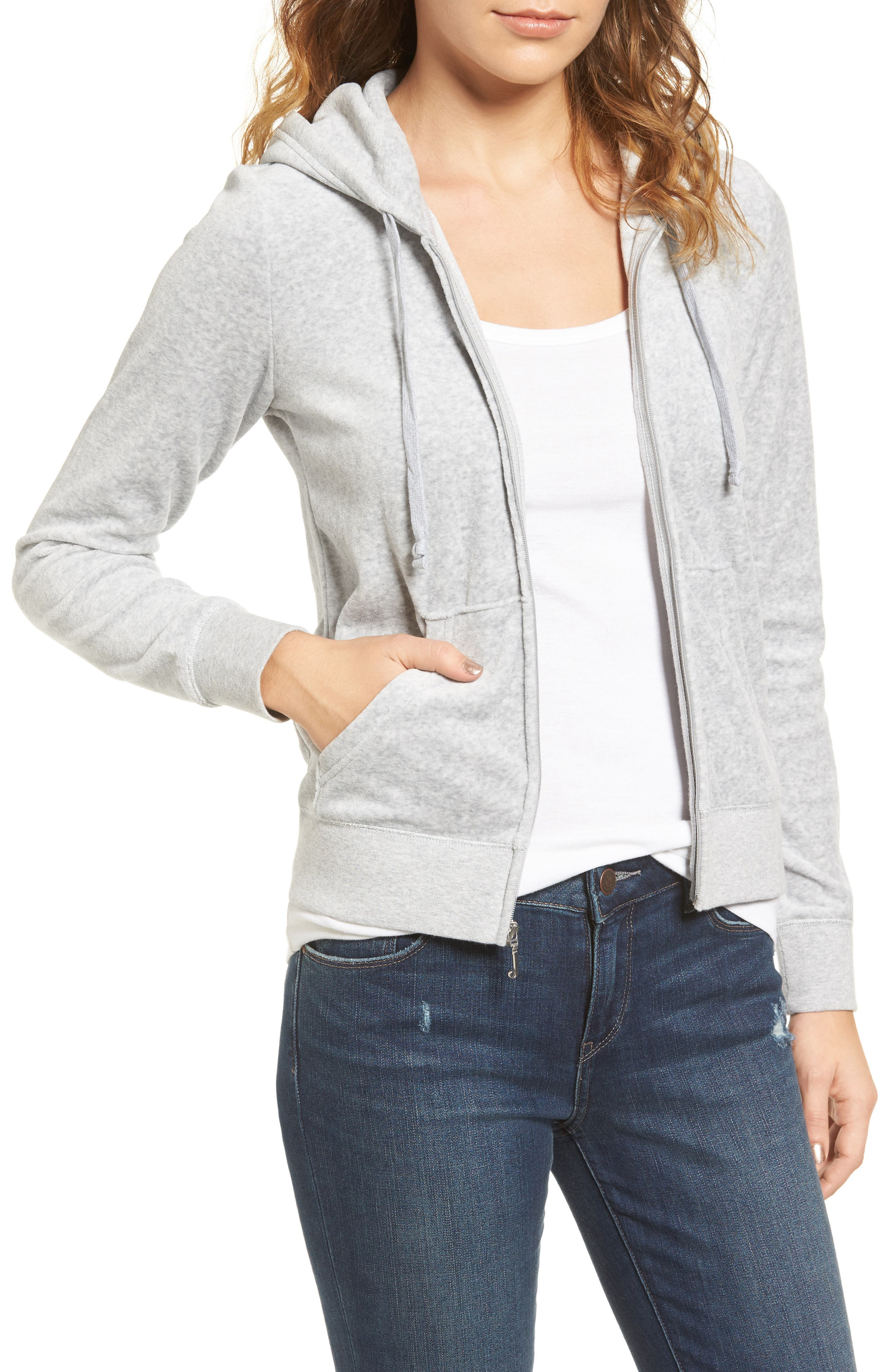 Juicy Couture Robertson Velour Hoodie