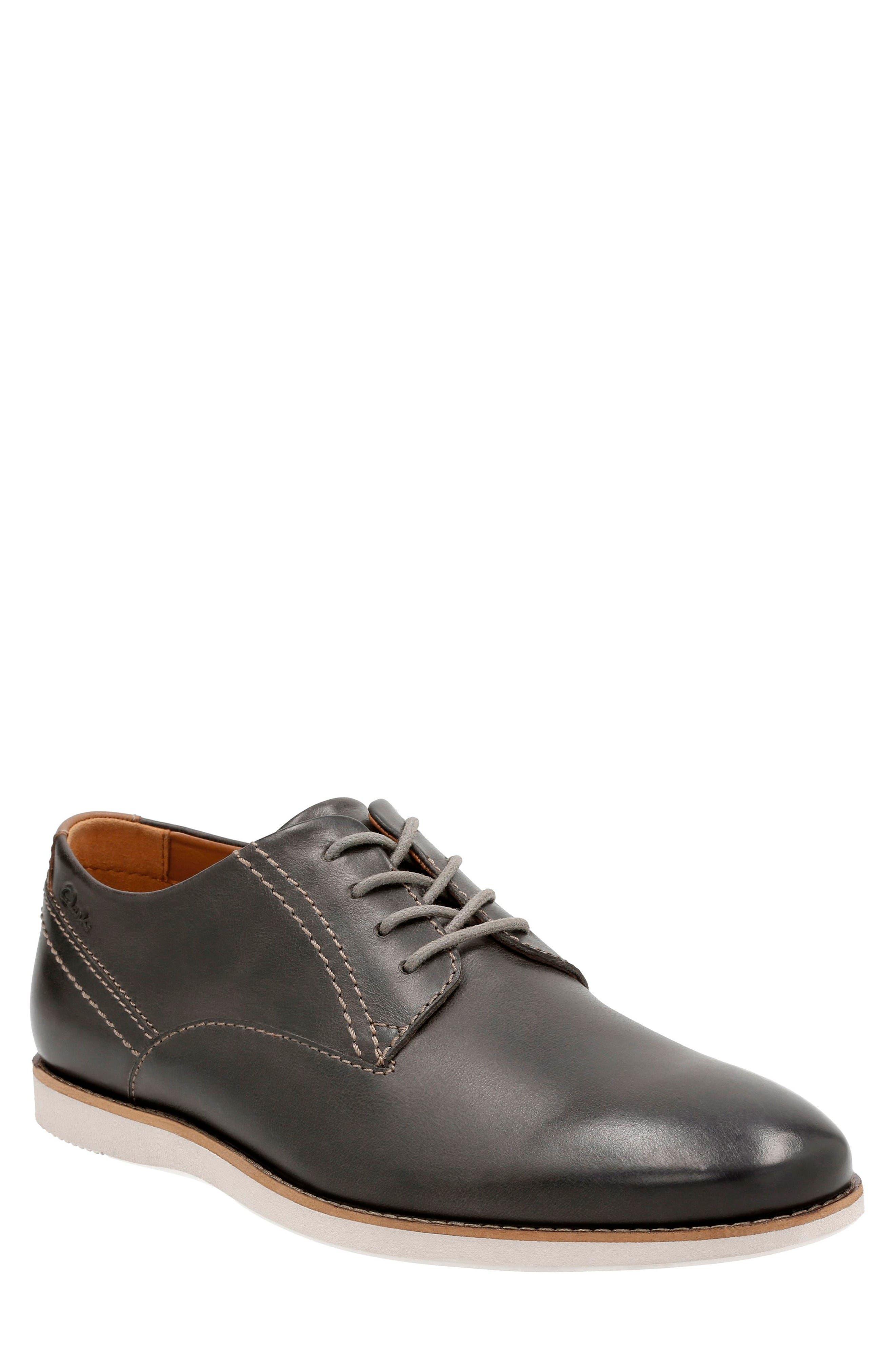 Clarks® Franson Plain Toe Derby (Men)