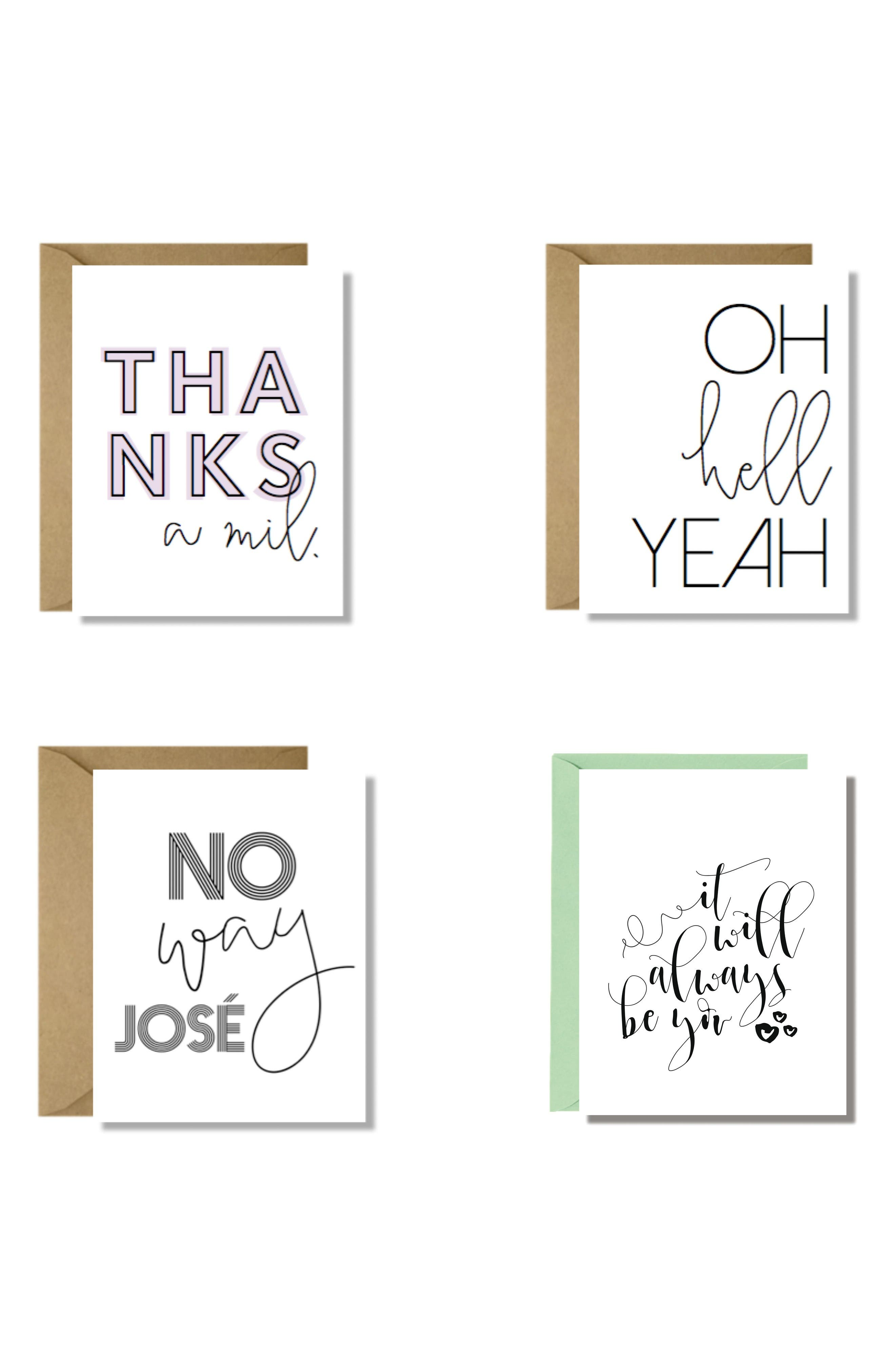 Maly Tross Paper Collective Set of 4 Cards