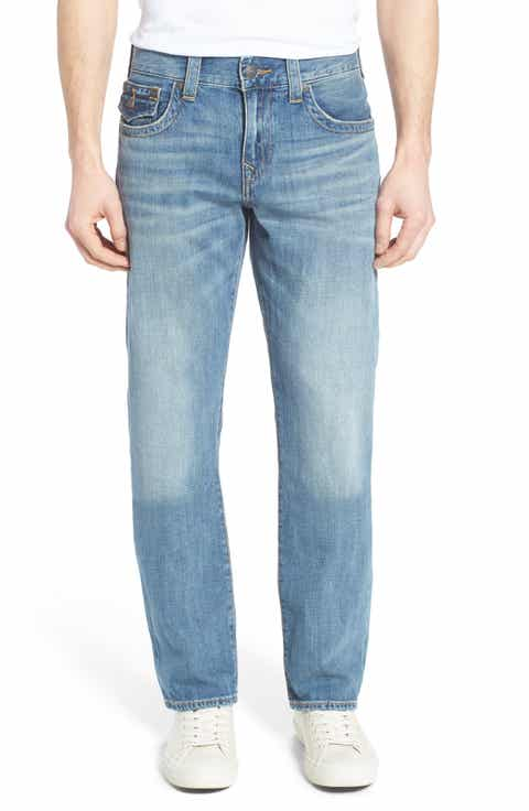 True Religion Brand Jeans Ricky Relaxed Fit Jeans (Hidden Reef) (Regular   Big)