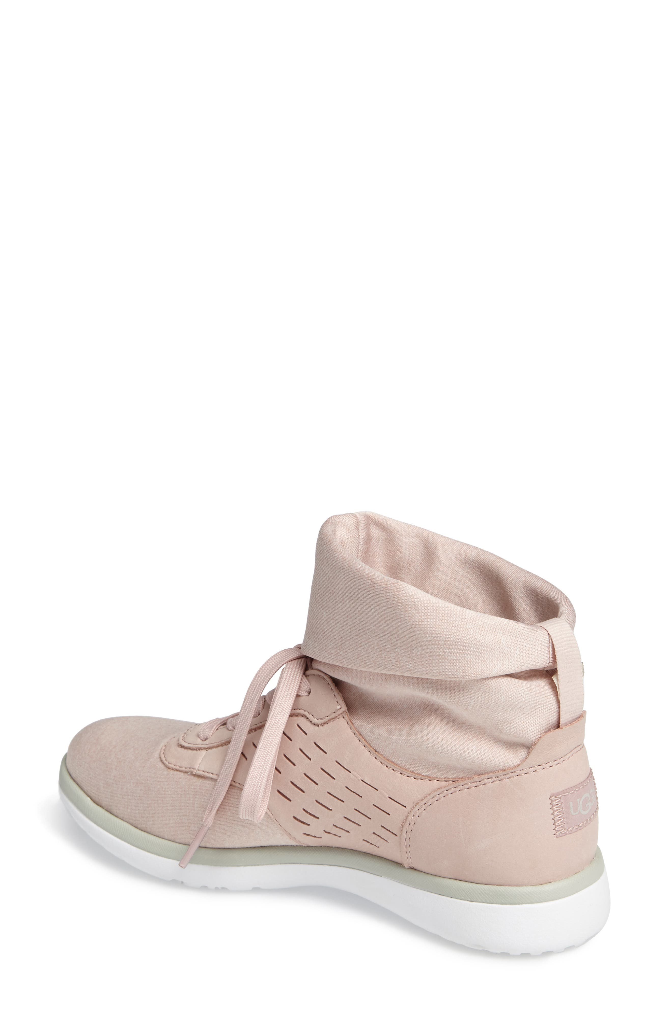 Alternate Image 2  - UGG® Islay High Top Sneaker (Women)