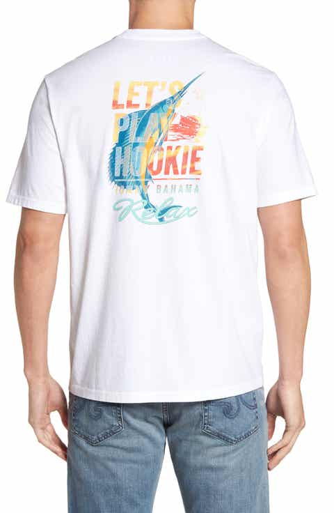 Tommy Bahama Let's Play Hookie T-Shirt (Big   Tall)