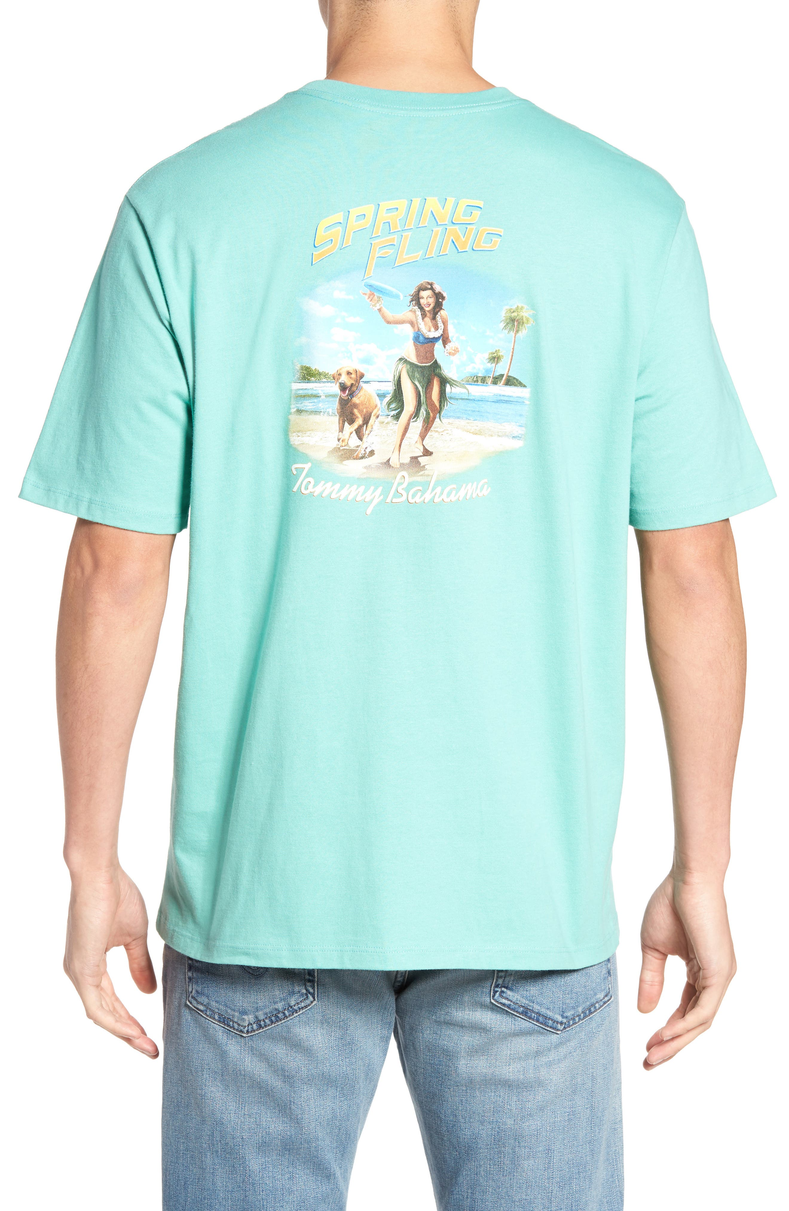 Tommy Bahama Spring Fling T-Shirt (Big & Tall)