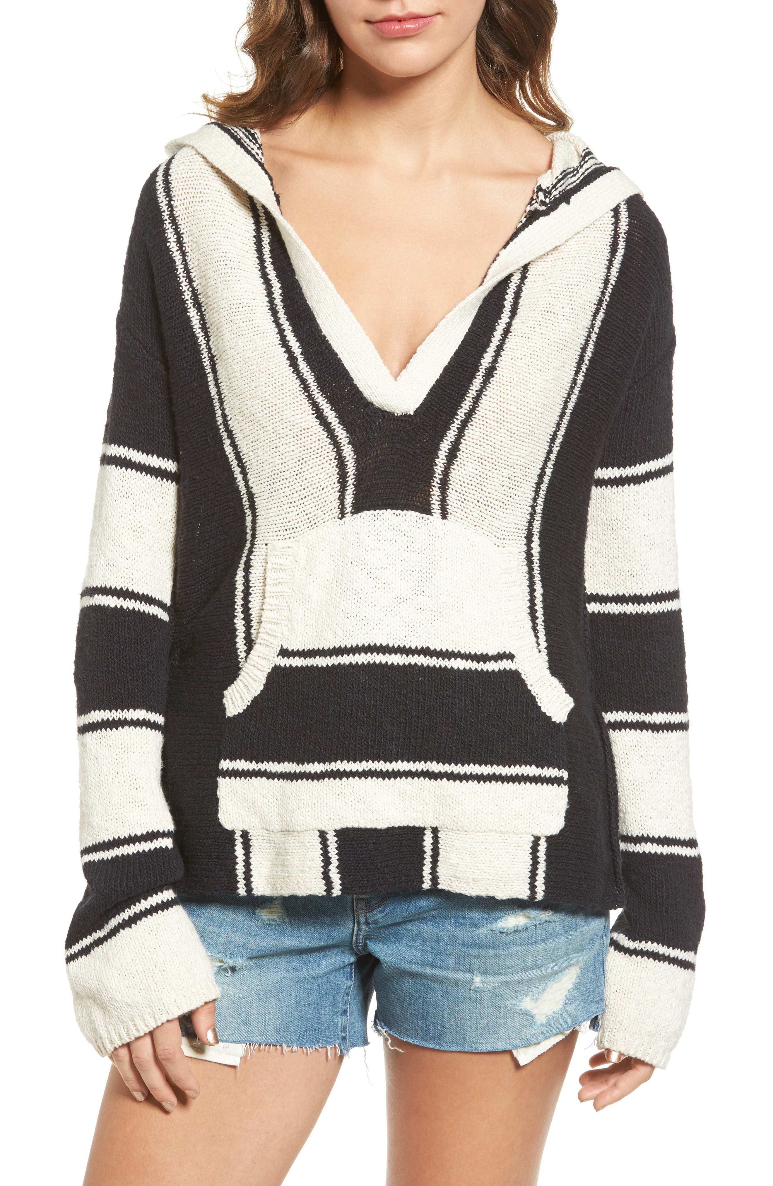 Pam & Gela Stripe Baha Pullover
