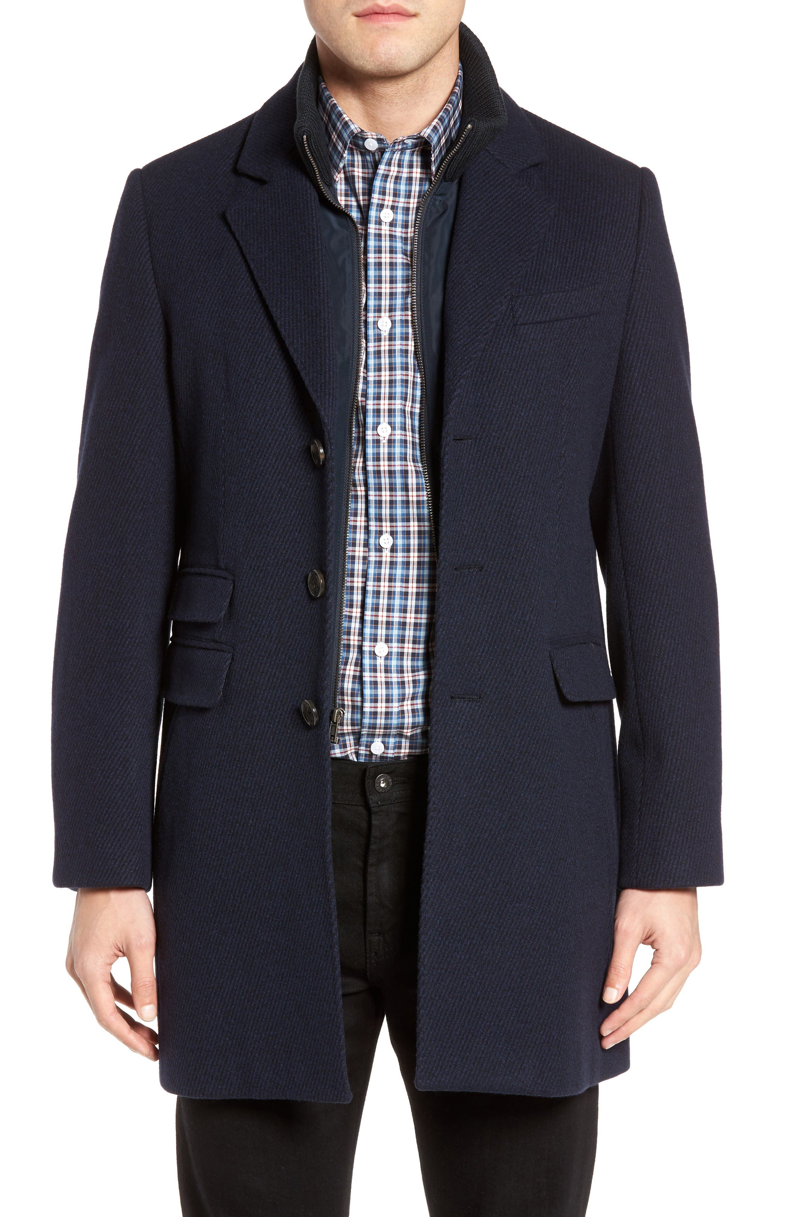 Cardinal of Canada LeClair Wool & Cashmere Topcoat