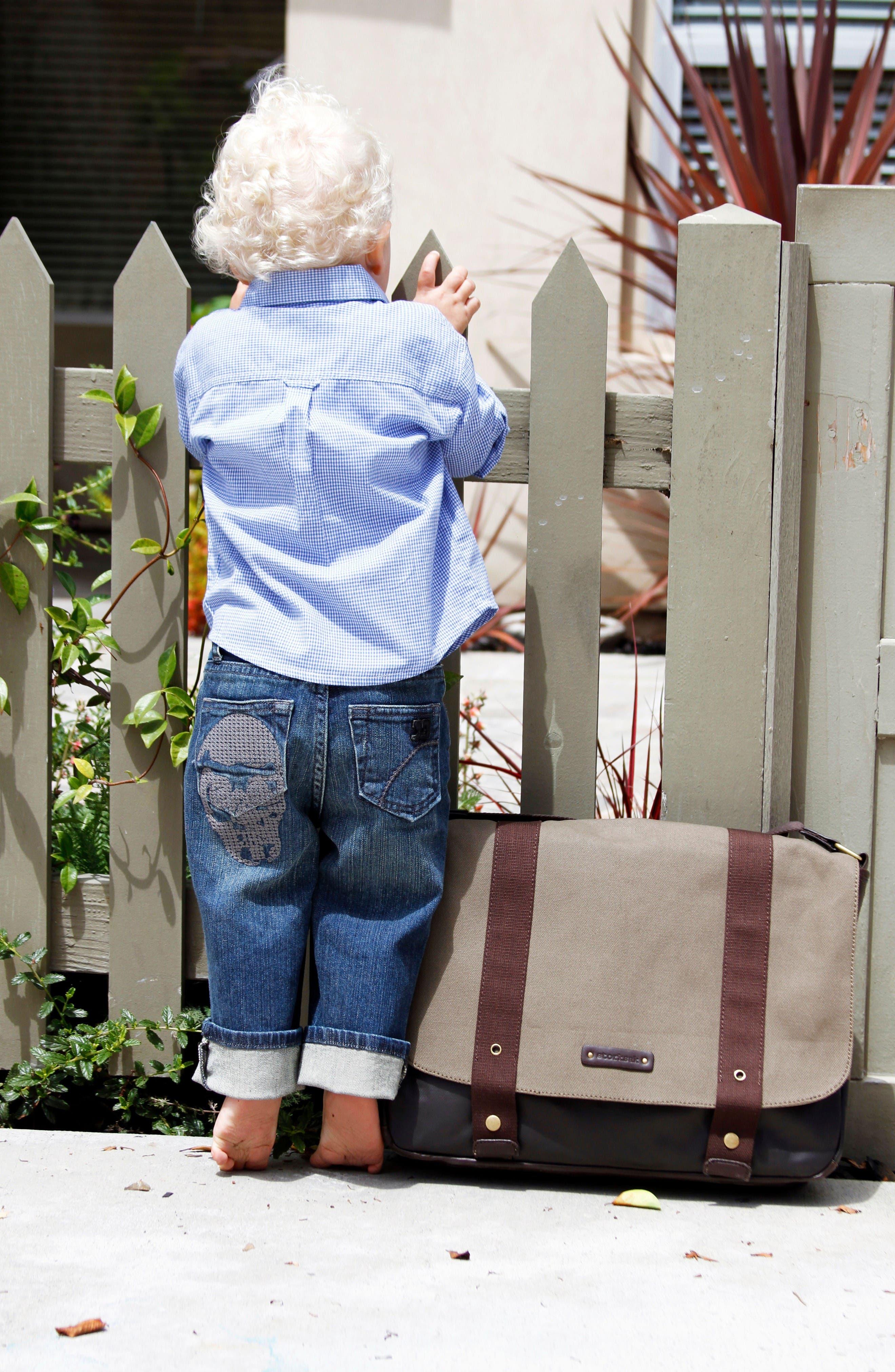 Alternate Image 3  - Storksak 'Aubrey' Diaper Bag