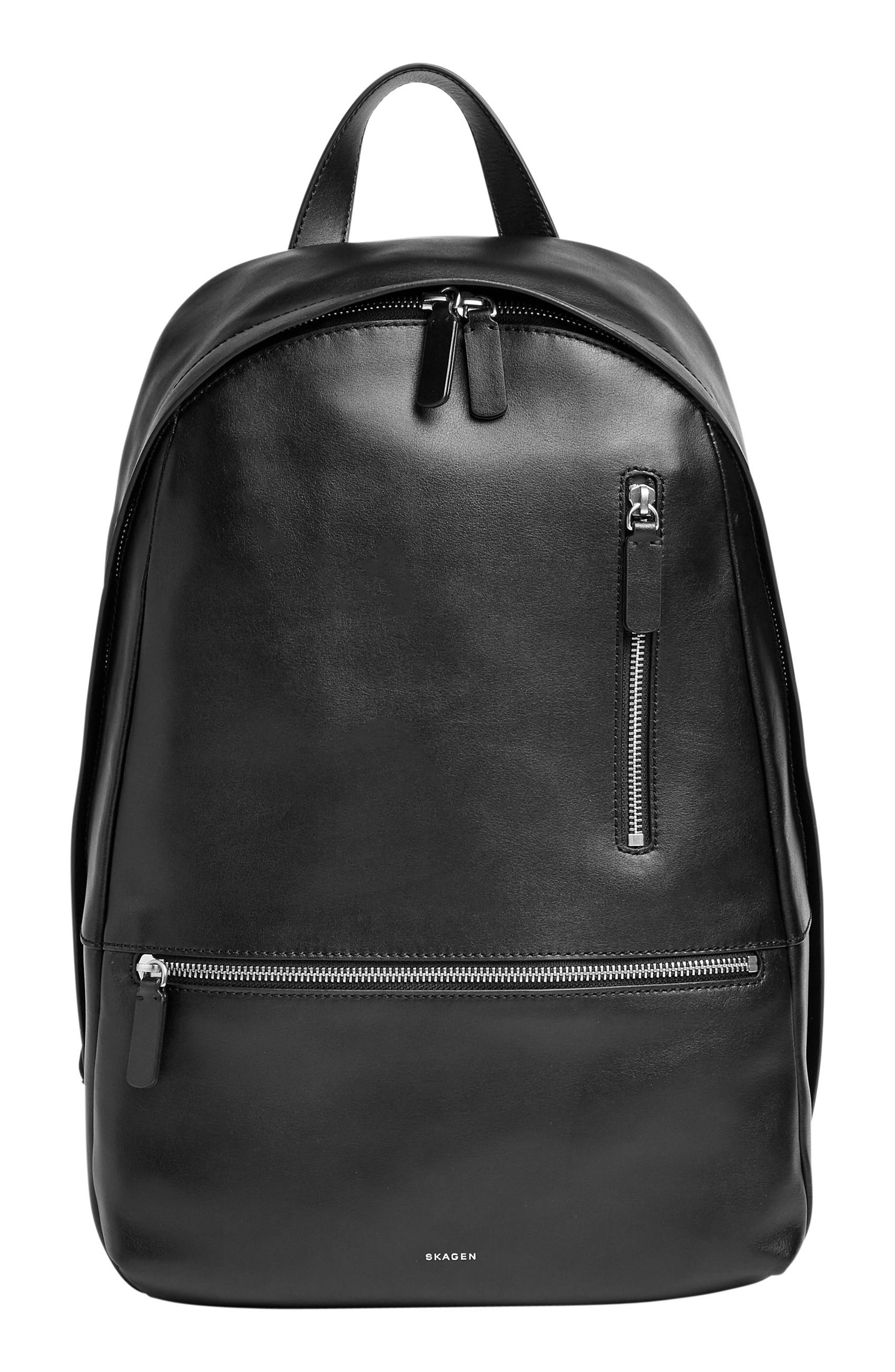 Skagen Krøyer Faux Leather Backpack