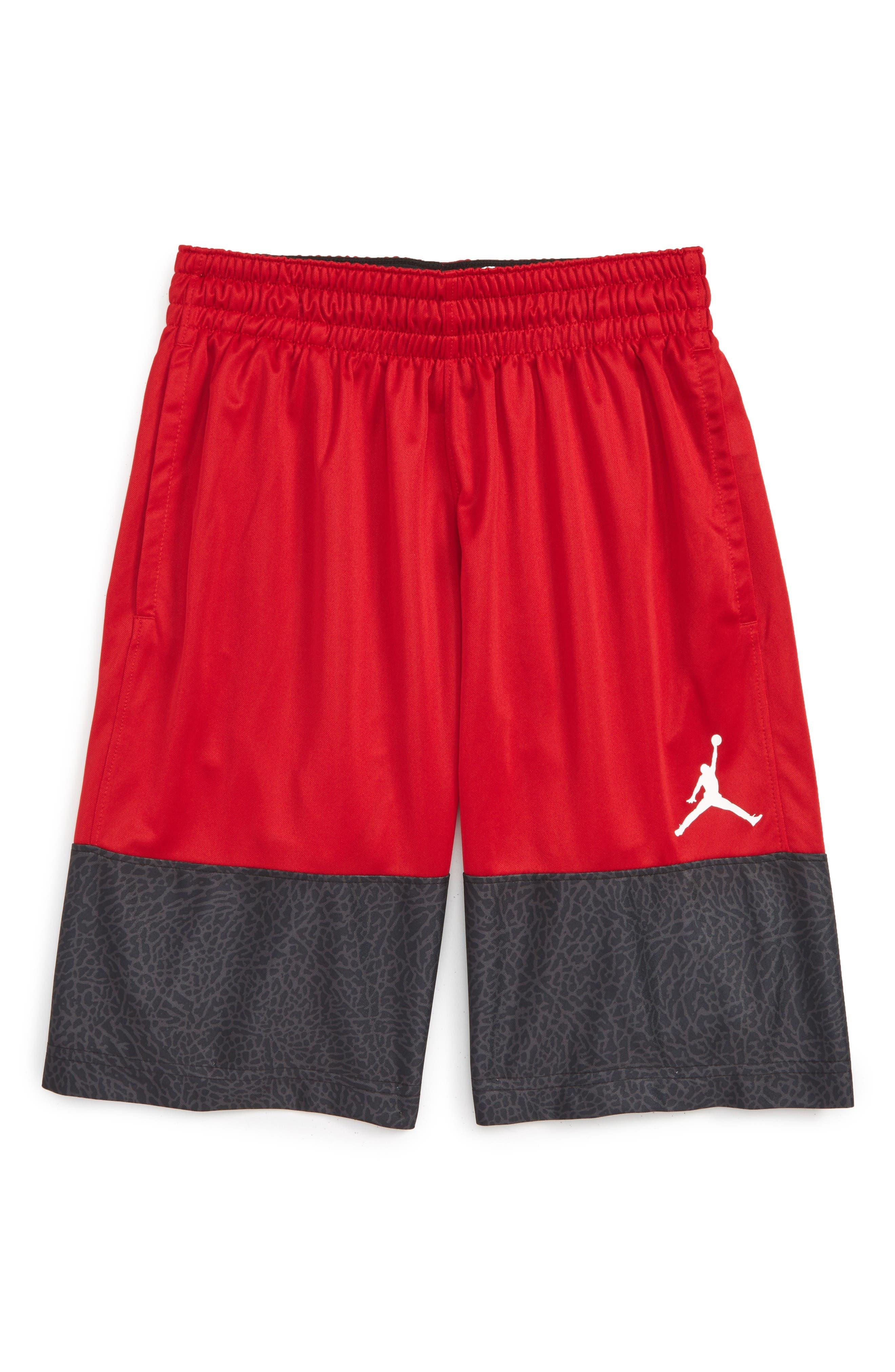 Jordan Wings Blockout Shorts (Big Boys)