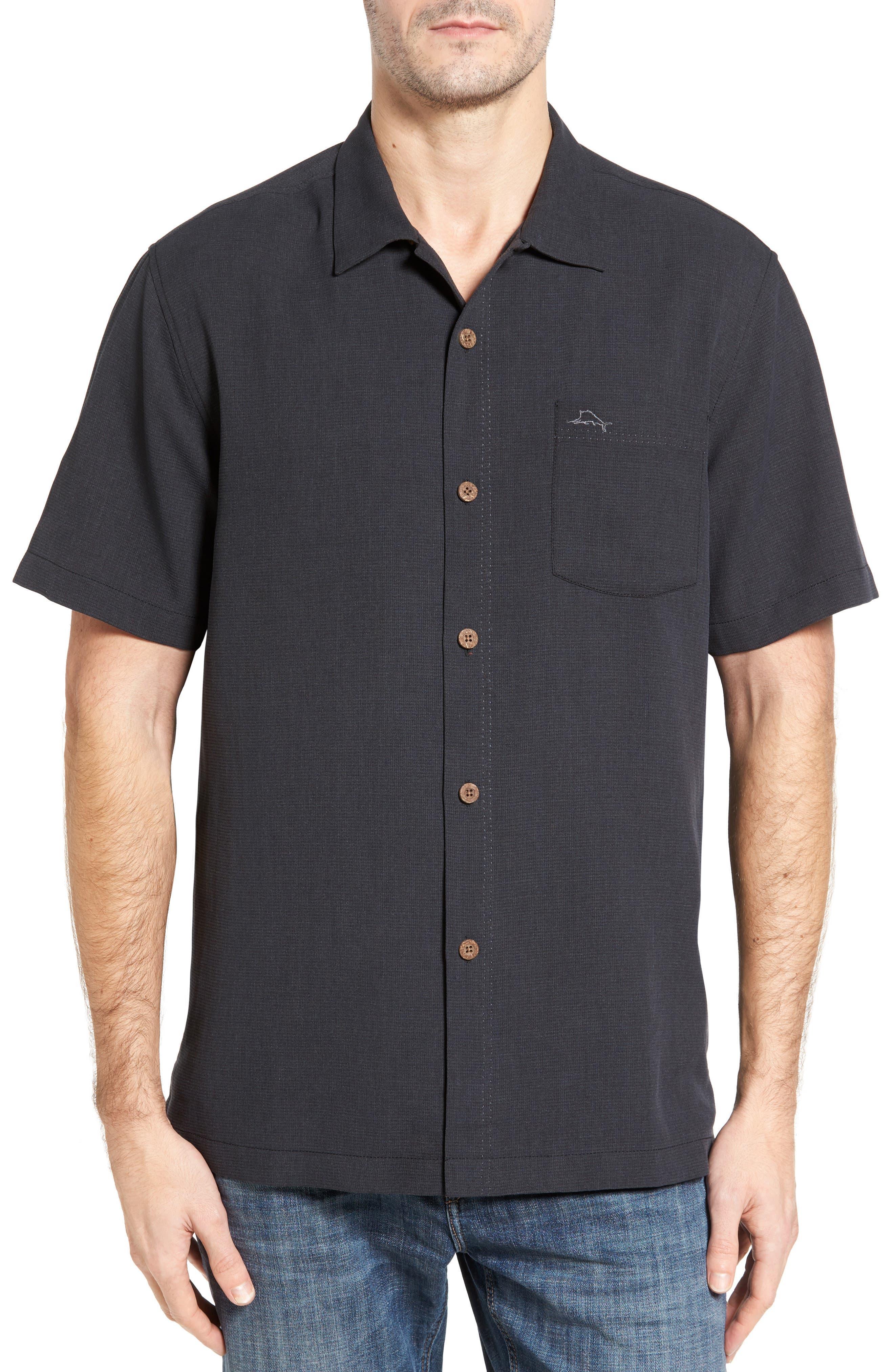 Tommy Bahama Royal Bermuda Silk Blend Camp Shirt (Big & Tall)