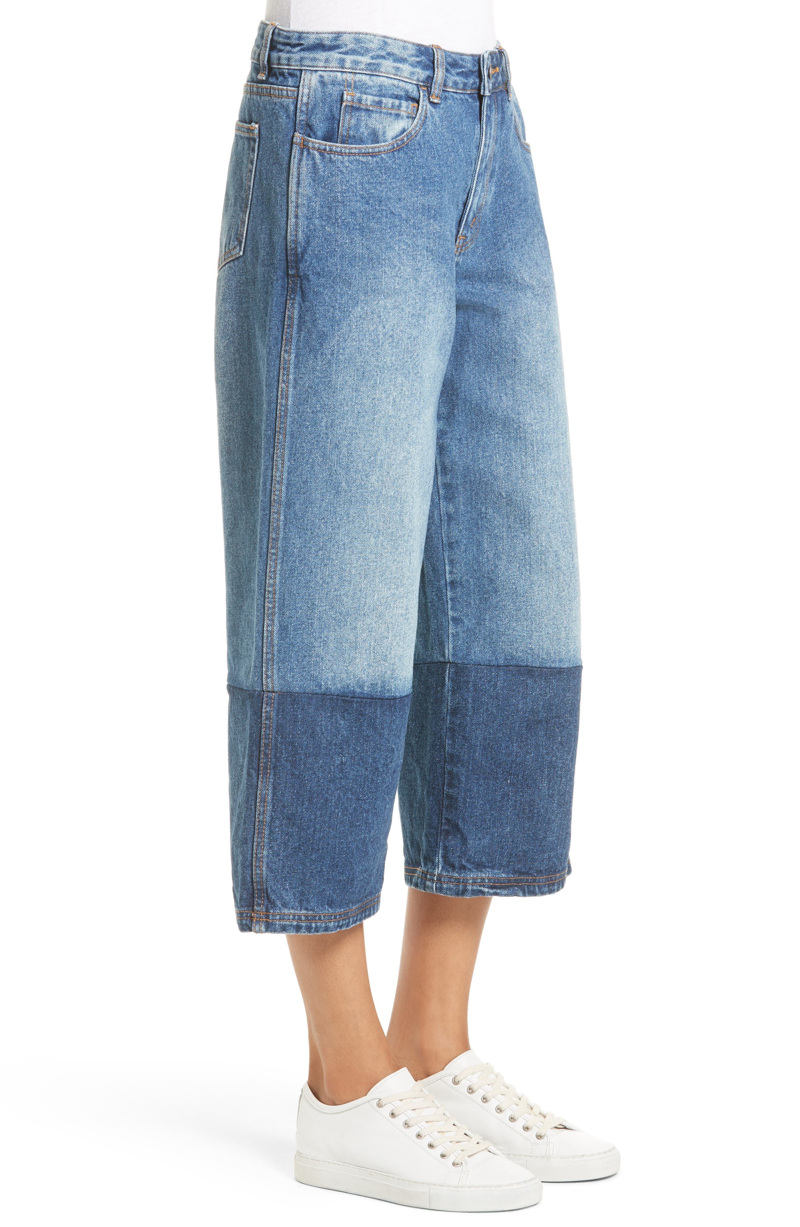 Alternate Image 3  - Robert Rodriguez Two-Tone Gaucho Jeans