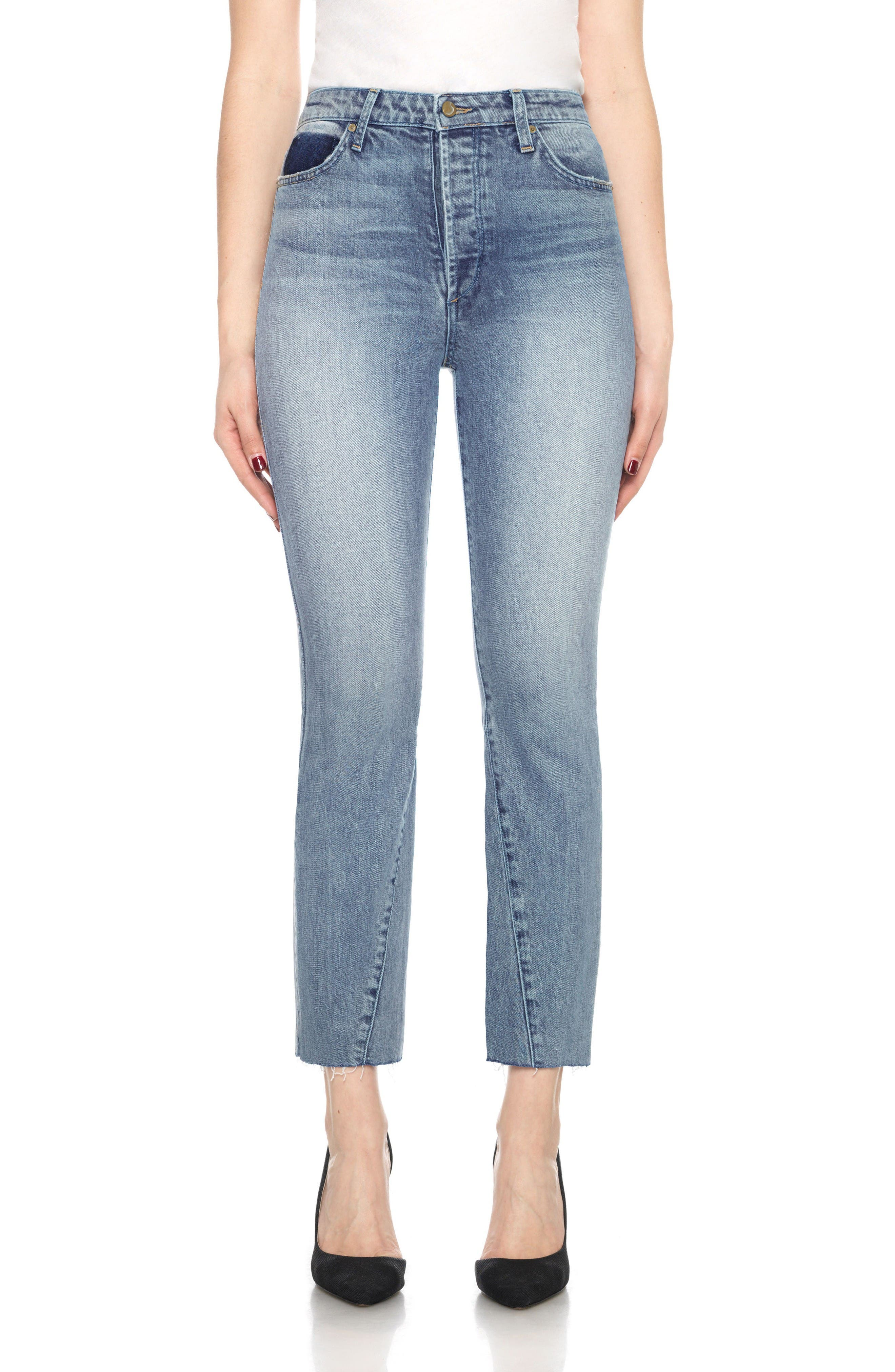 Joe's Collector's - Debbie High Waist Straight Crop Jeans (Kambria)
