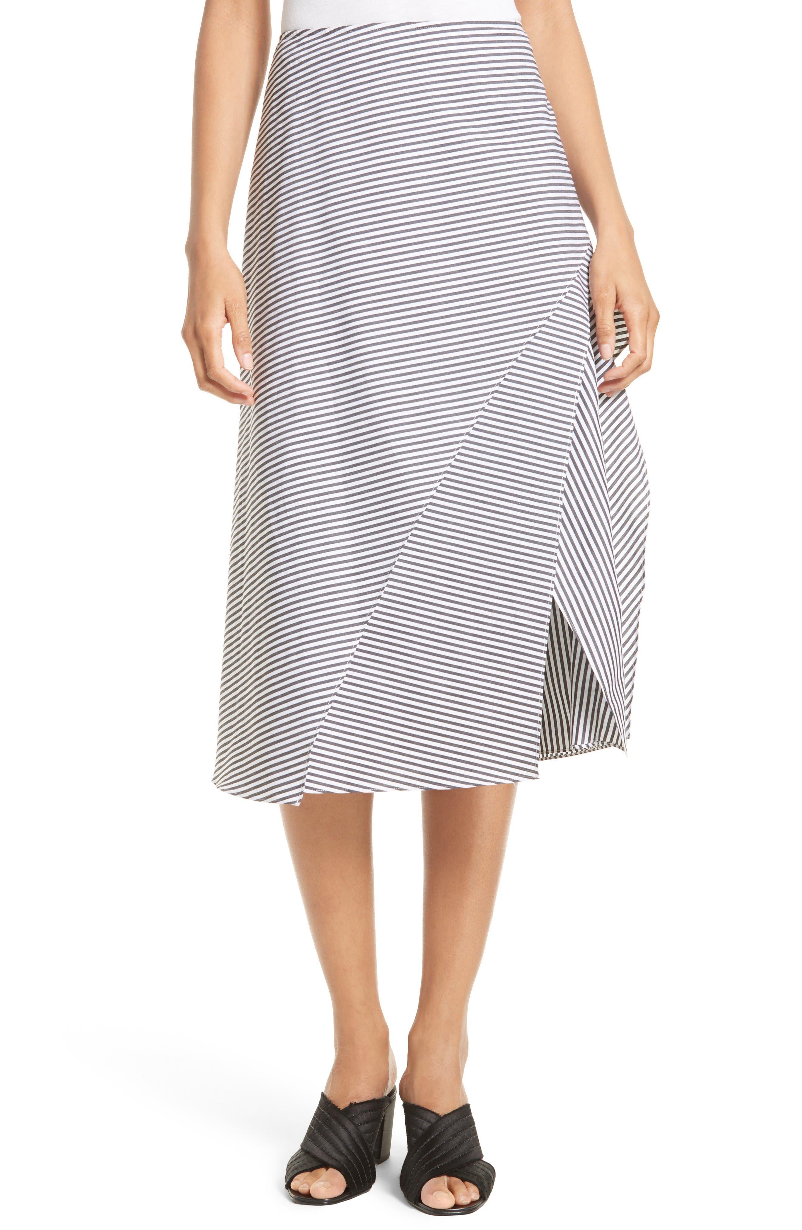 Robert Rodriguez Stripe Skirt