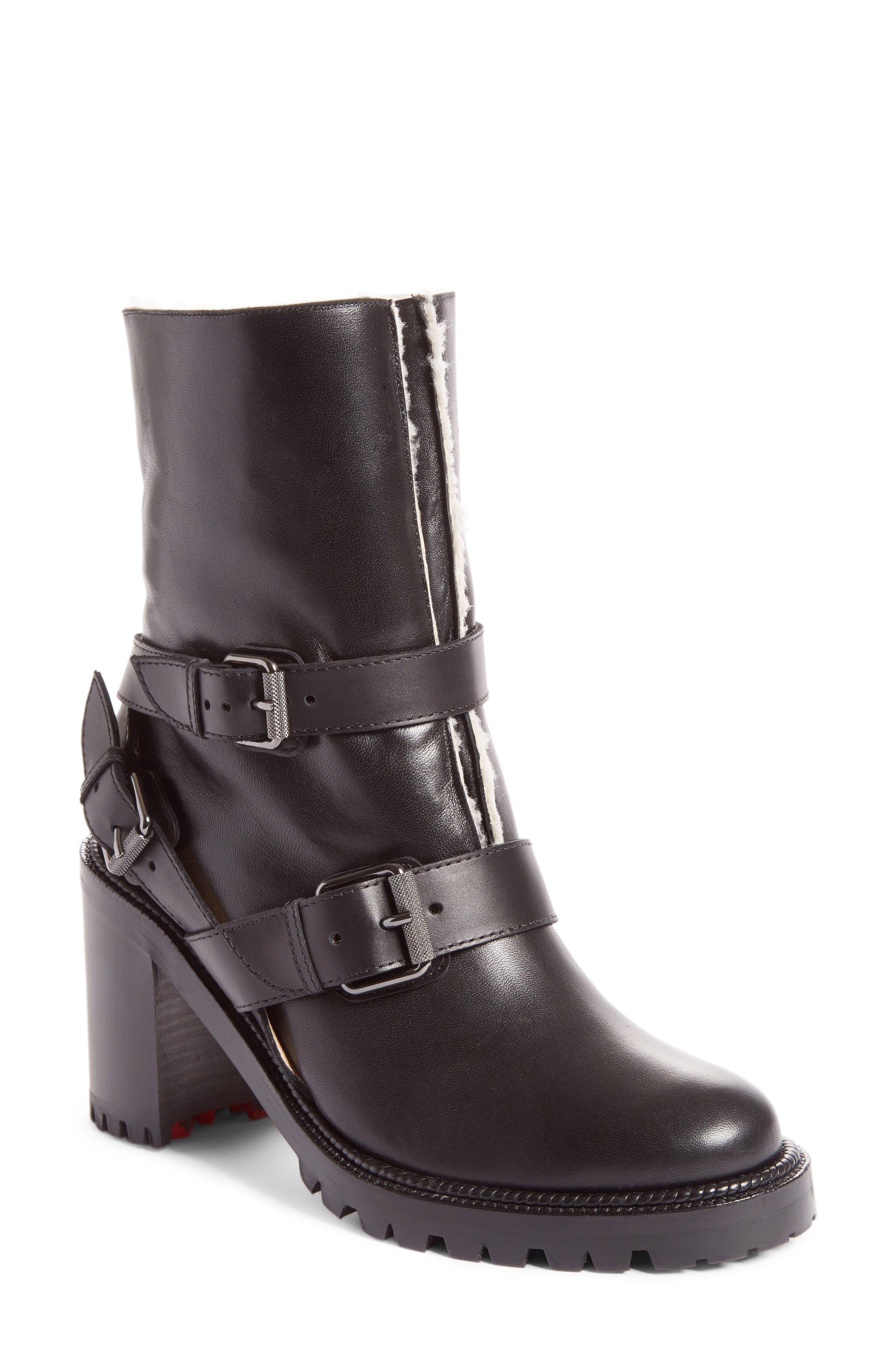 Christian Louboutin Viyonce Buckle Boot (Women)