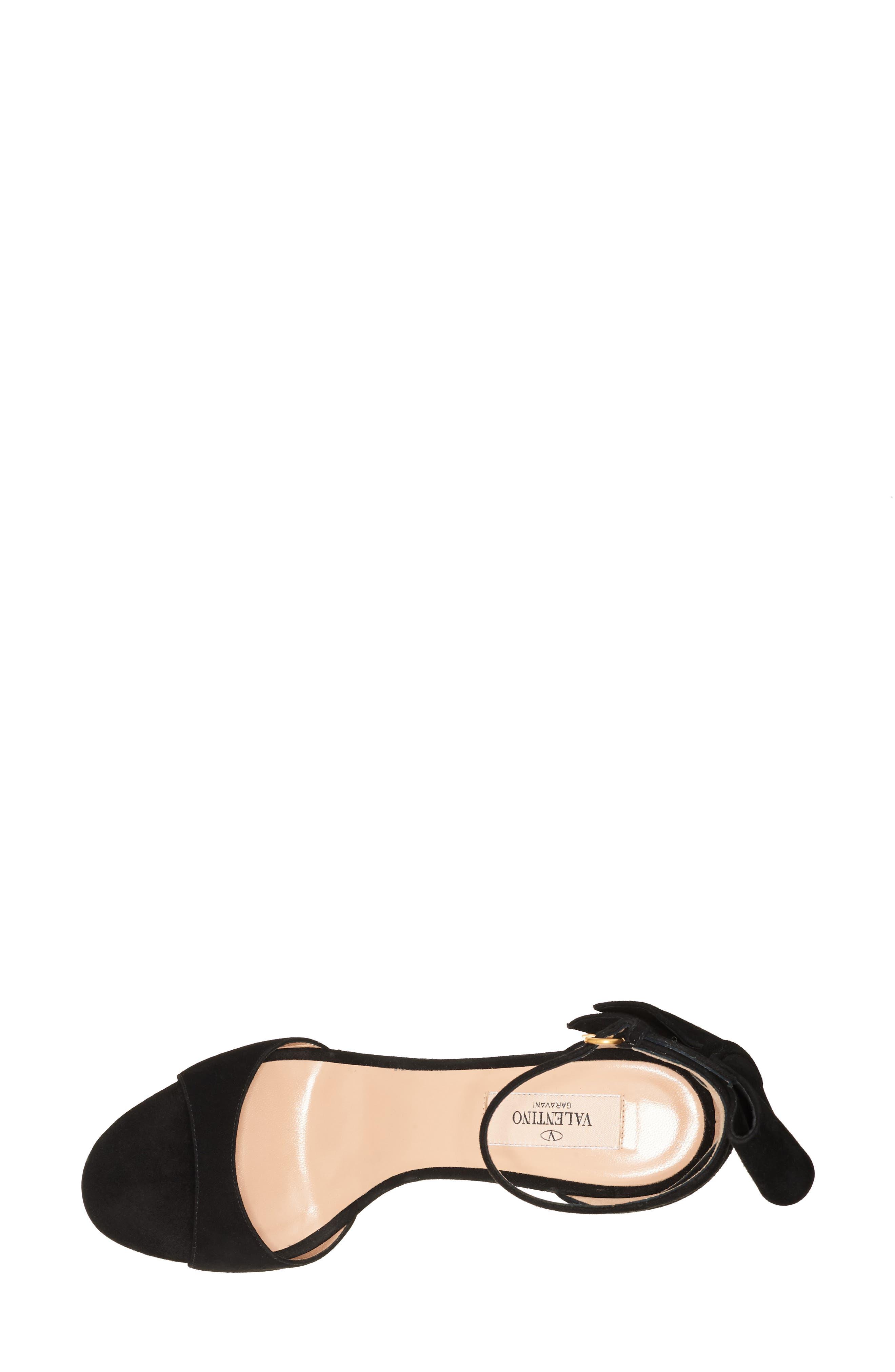 Alternate Image 3  - Valentino Bow Heel Sandal (Women)