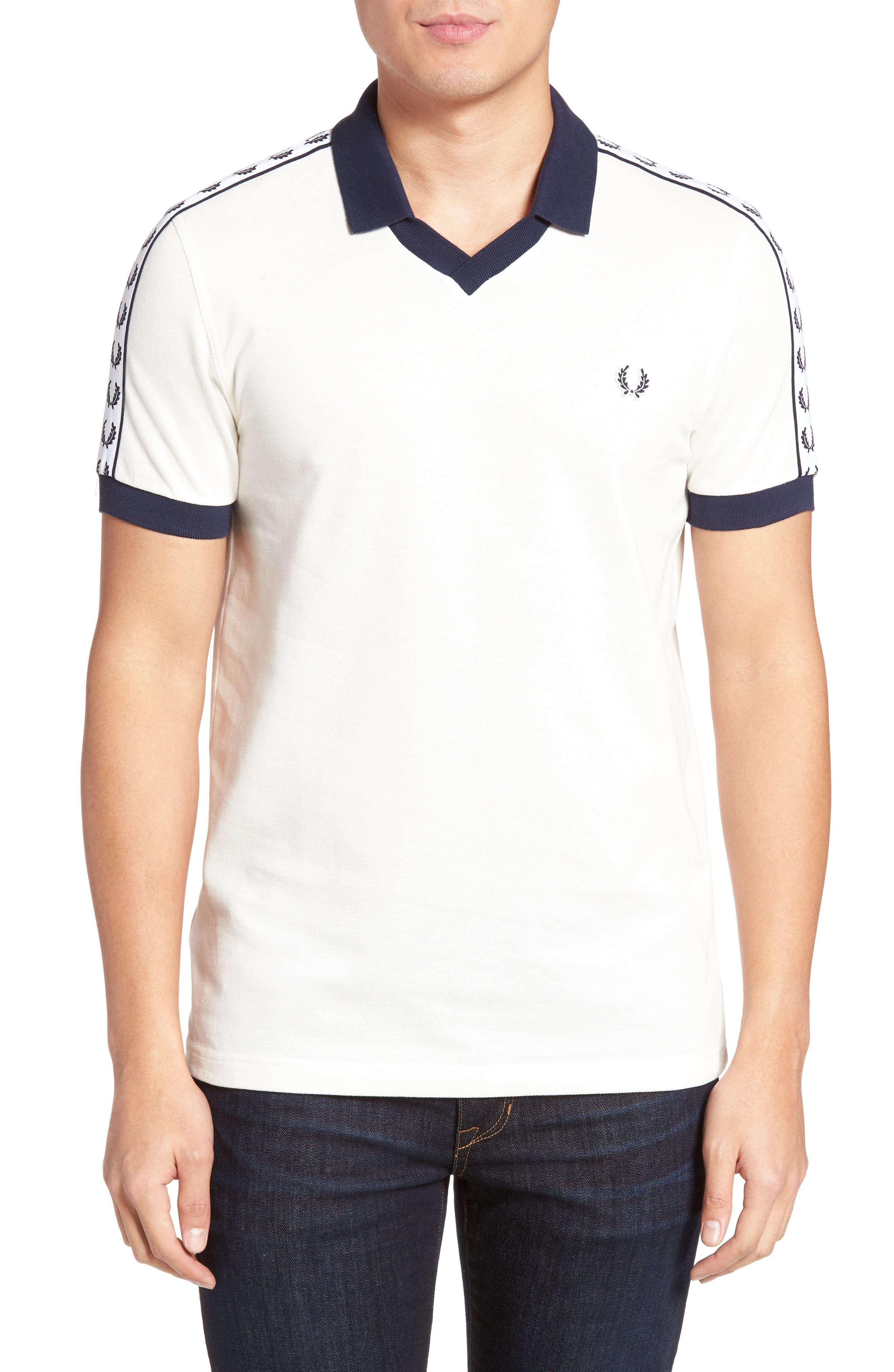 Fred Perry Taped Logo Polo