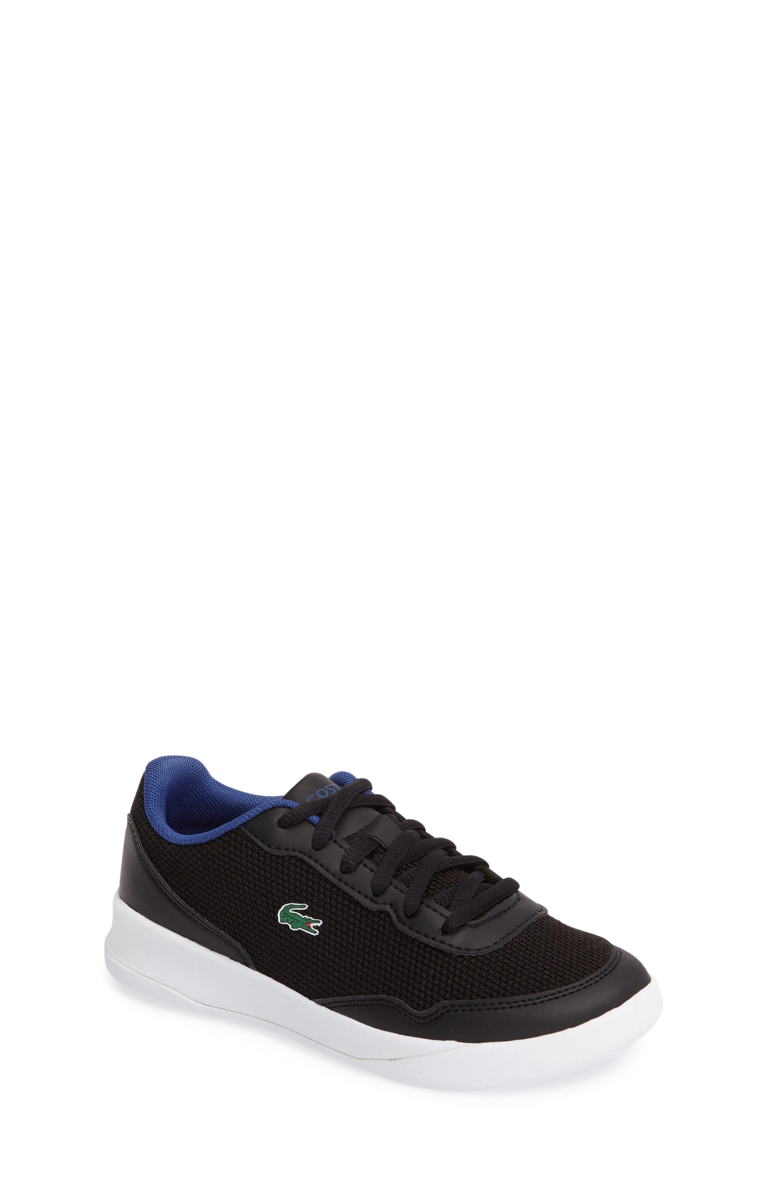 Lacoste LT Spirit Woven Sneaker (Toddler & Little Kid)