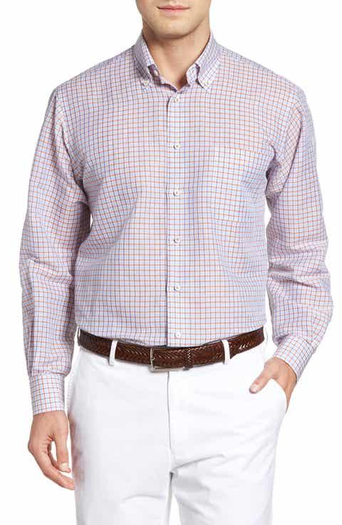 Shirts for men men 39 s orange linen shirts nordstrom for Robert talbott shirts sale