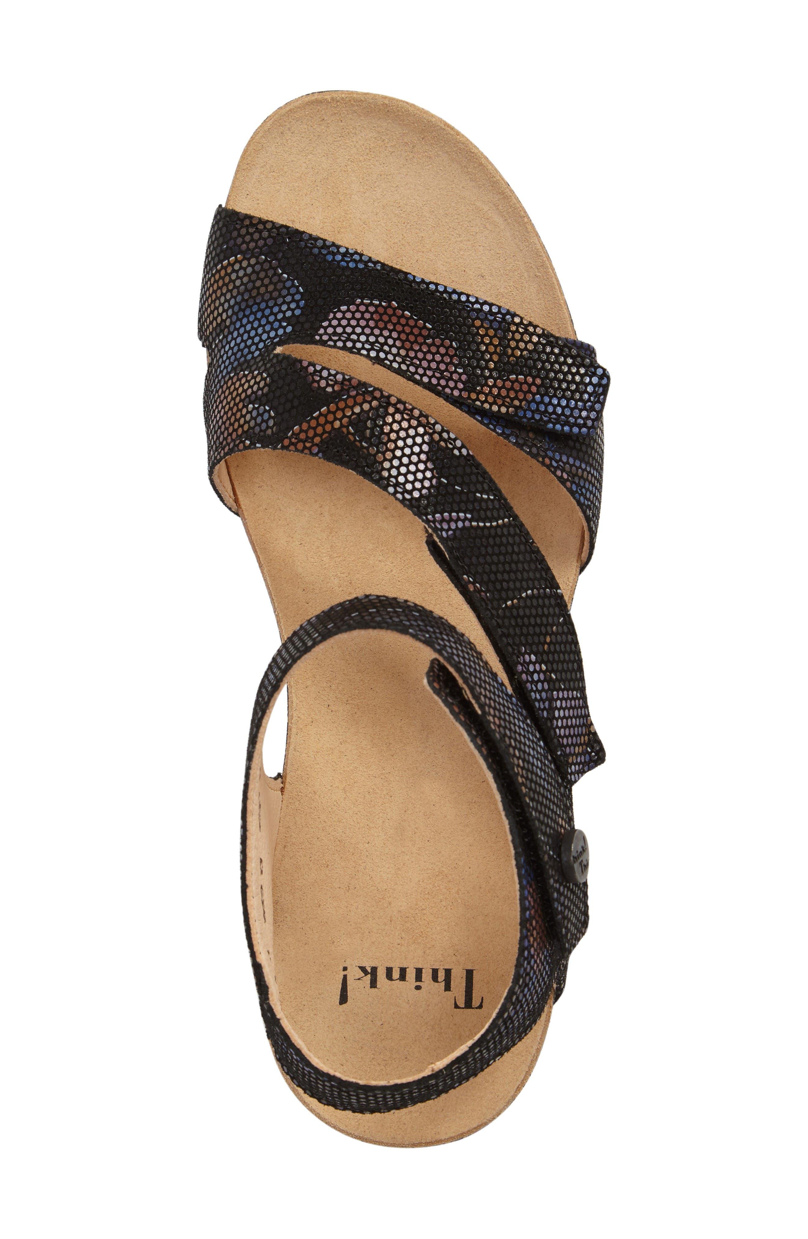 Alternate Image 5  - Think! 'Dumia' Three Strap Sandal (Online Only)
