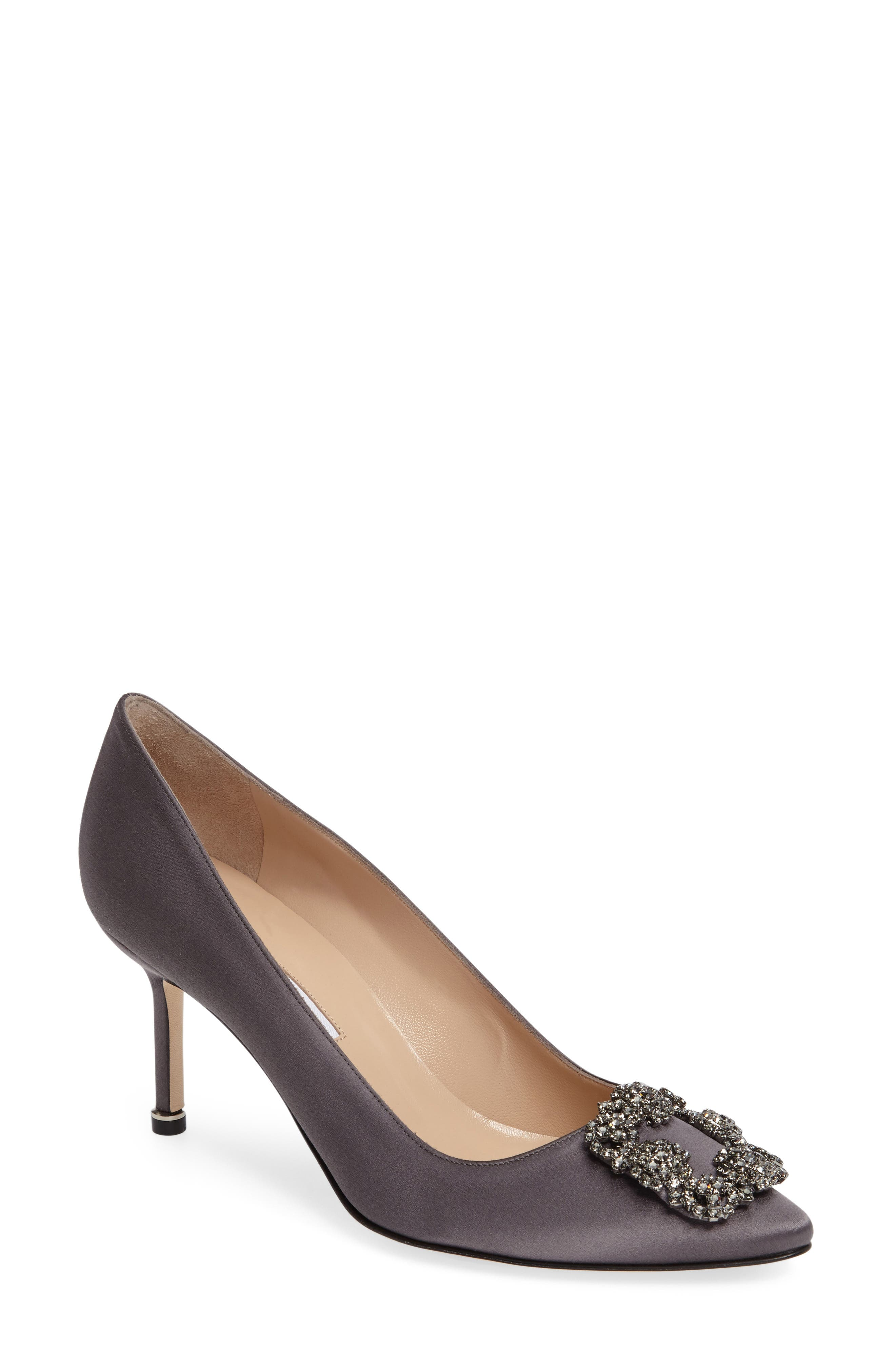 MANOLO BLAHNIK 'Hangisi' Pointy Toe Pump
