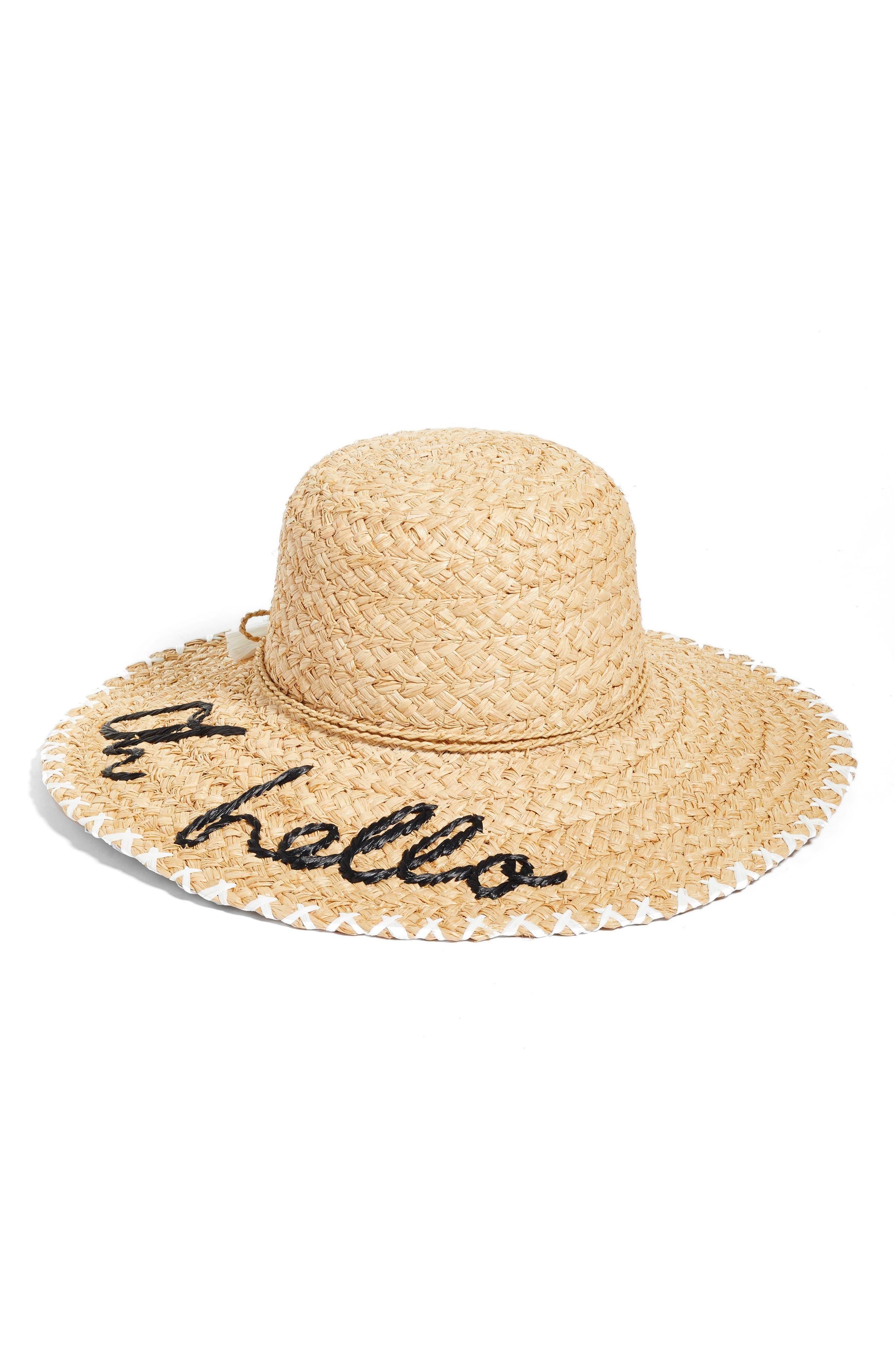 kate spade new york oh hello sun hat