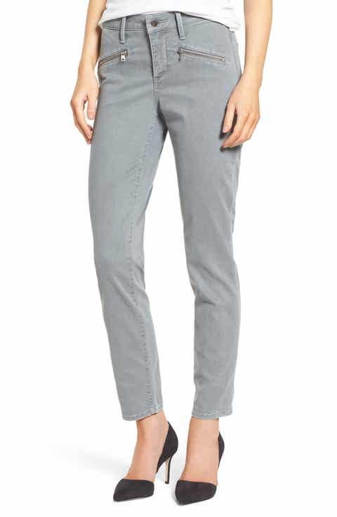 NYDJ Zip Pocket Skinny Chinos