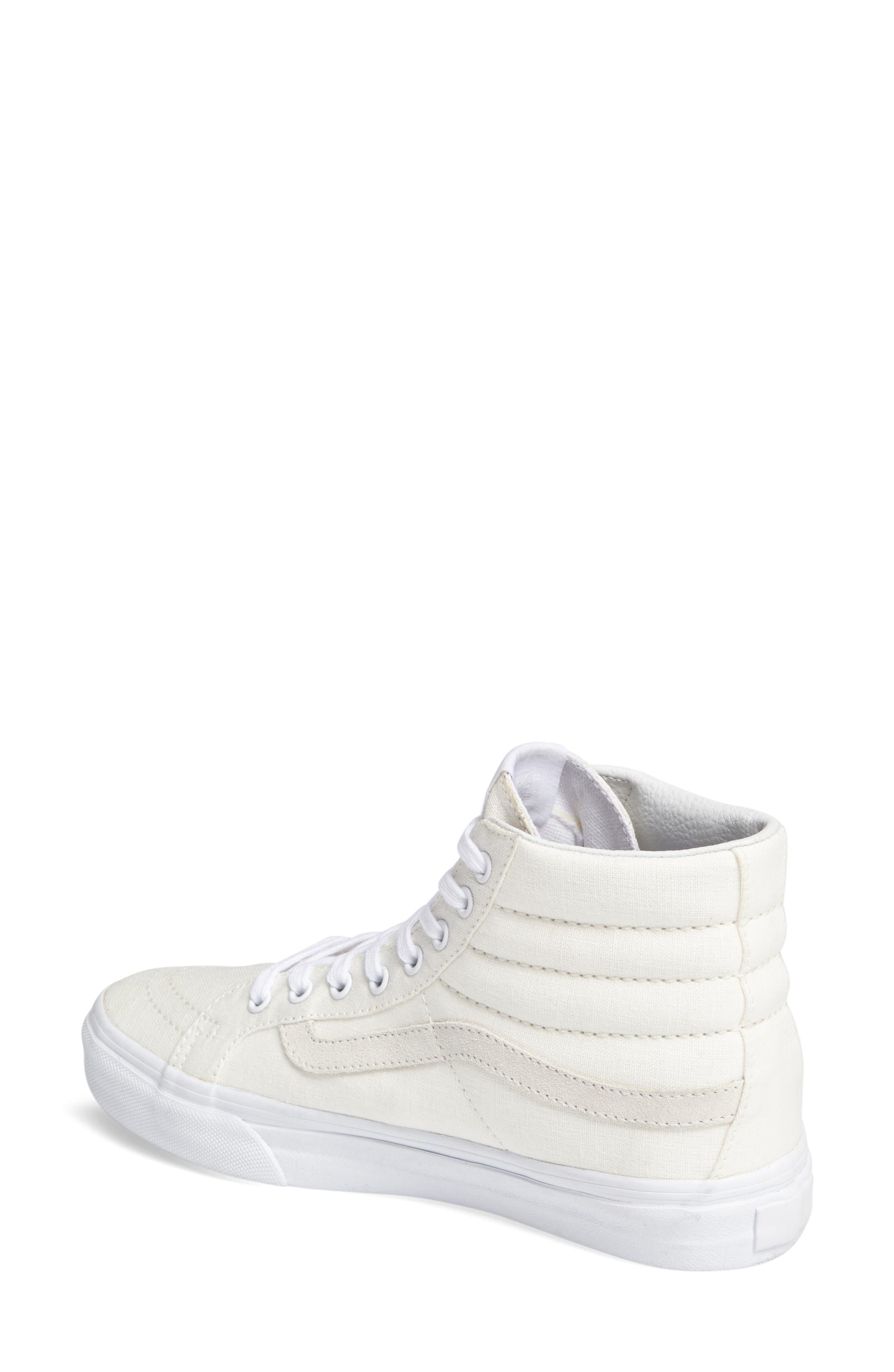 Alternate Image 2  - Vans Sk8-Hi Slim Sneaker (Women)