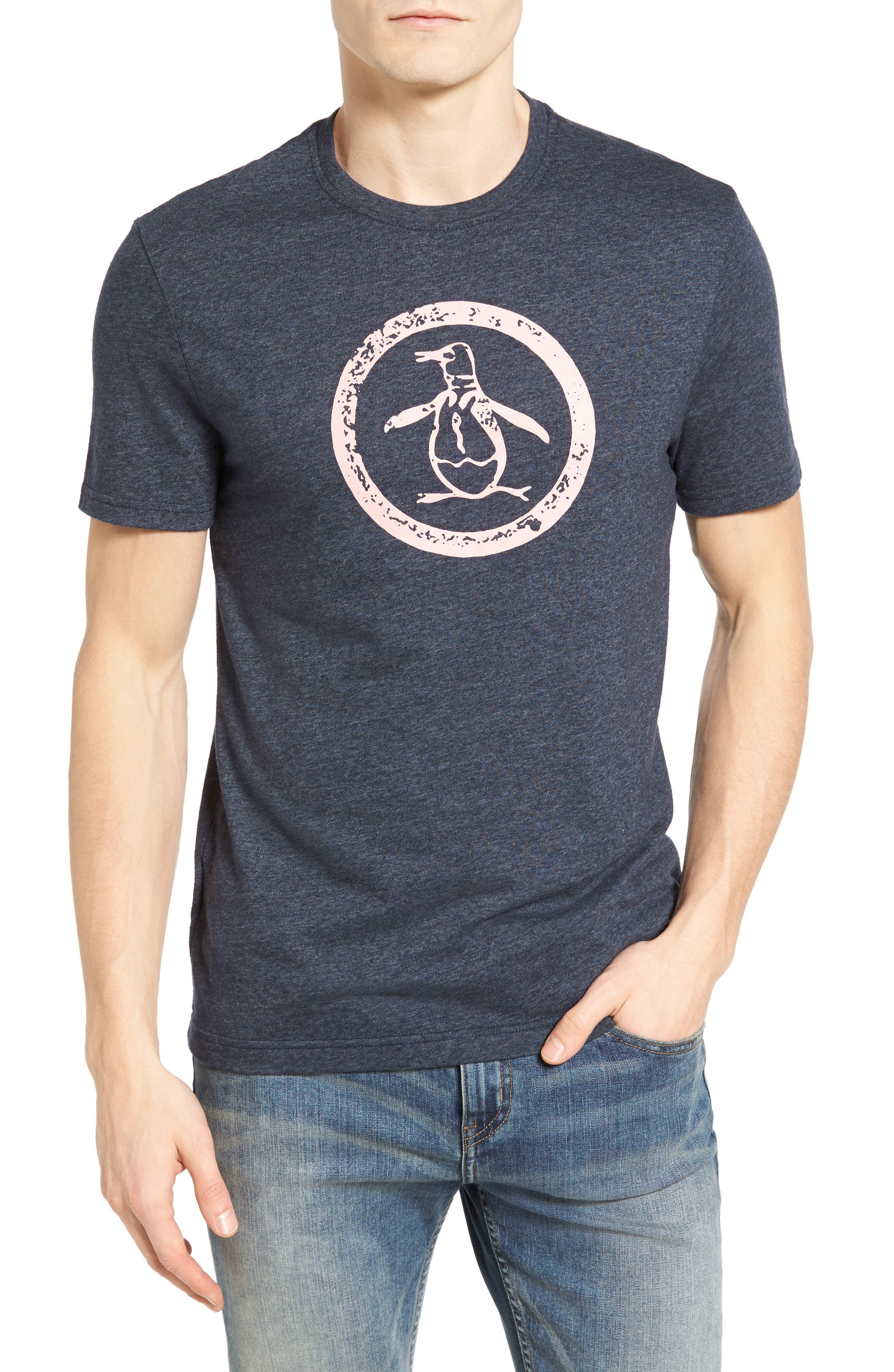 Original Penguin Distressed Circle Logo T-Shirt