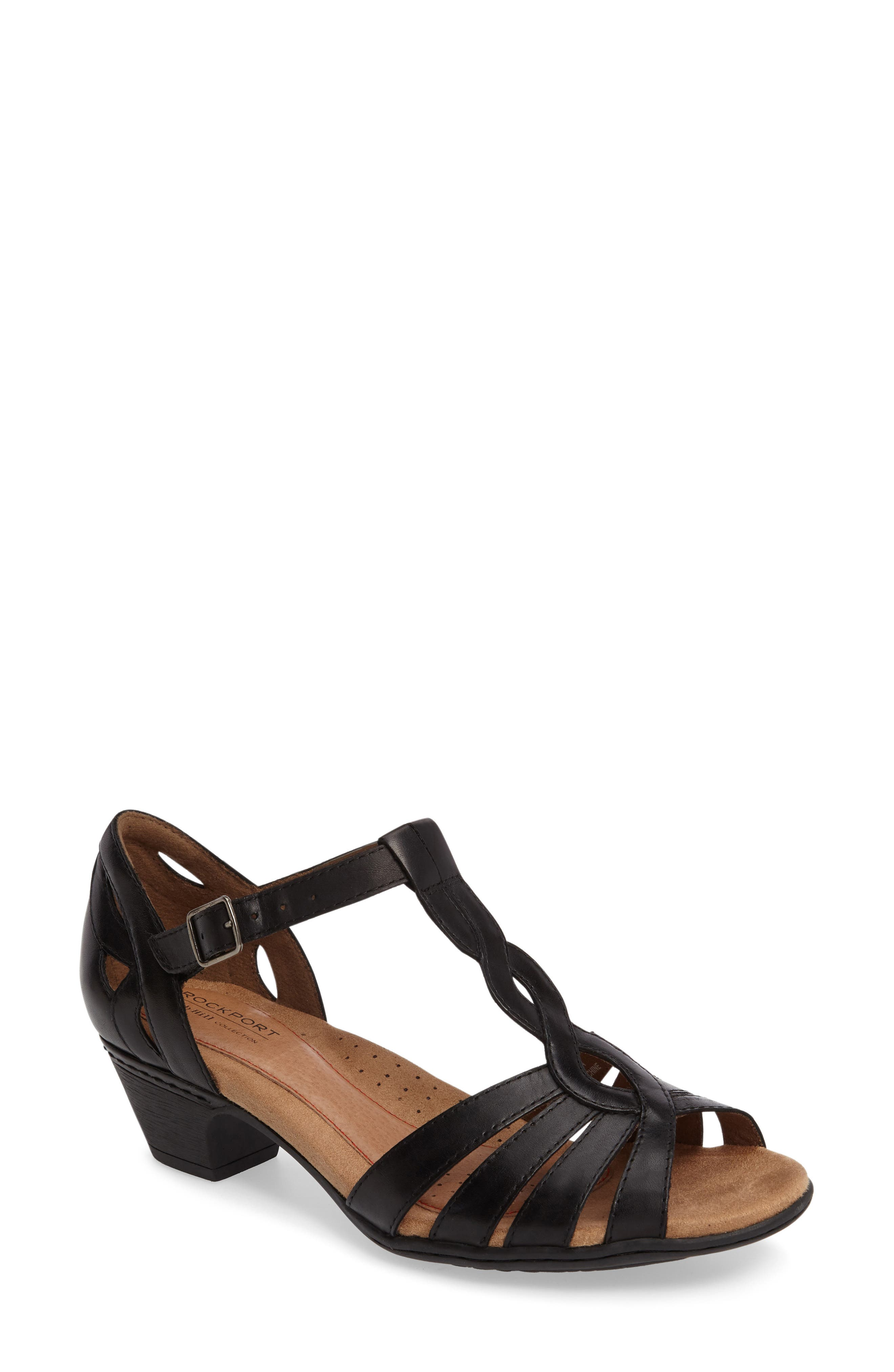 Rockport Cobb Hill Abbott T-Strap Sandal (Women)