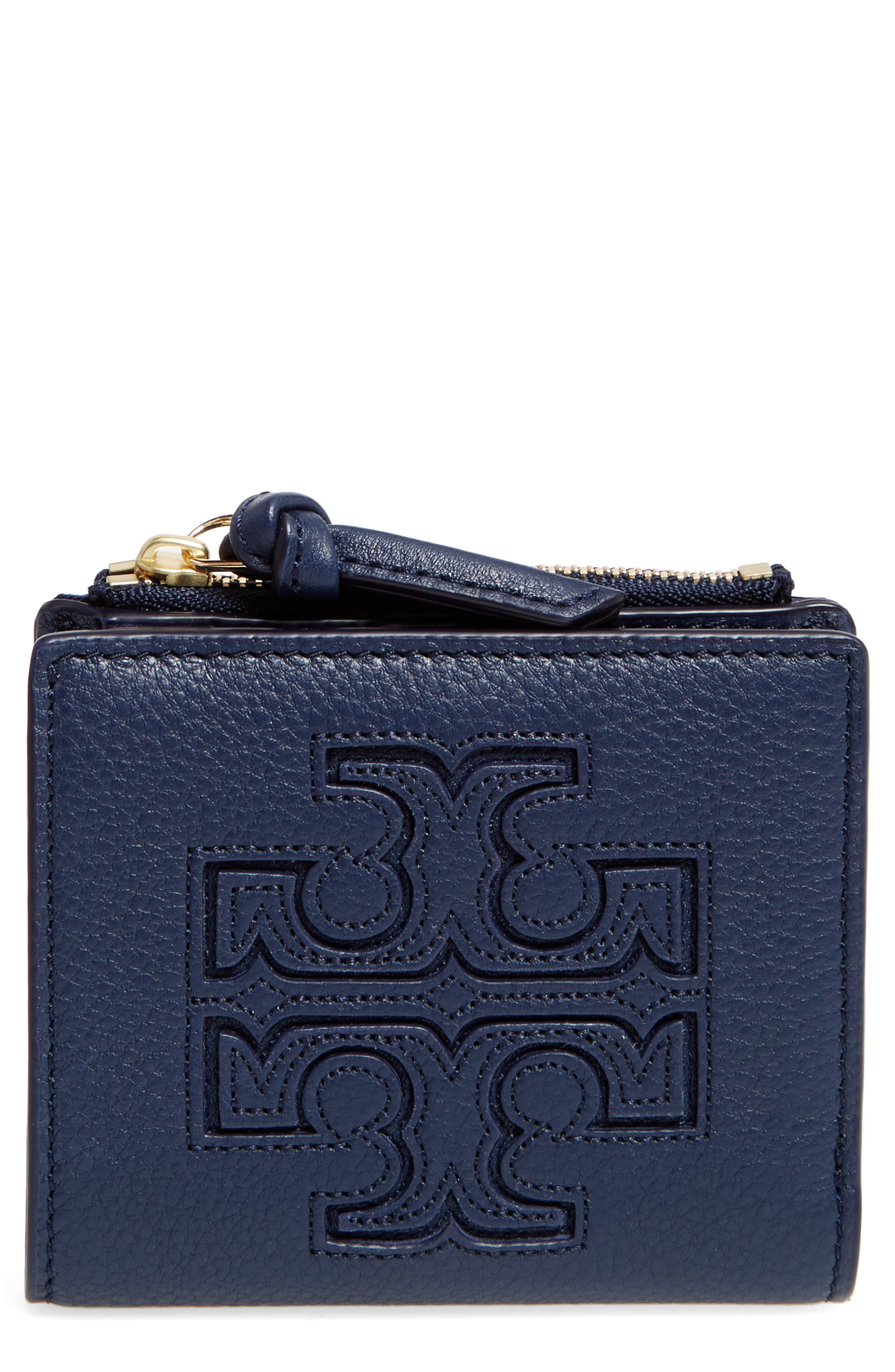 Alternate Image 1 Selected - Tory Burch 'Mini Harper' Leather Wallet