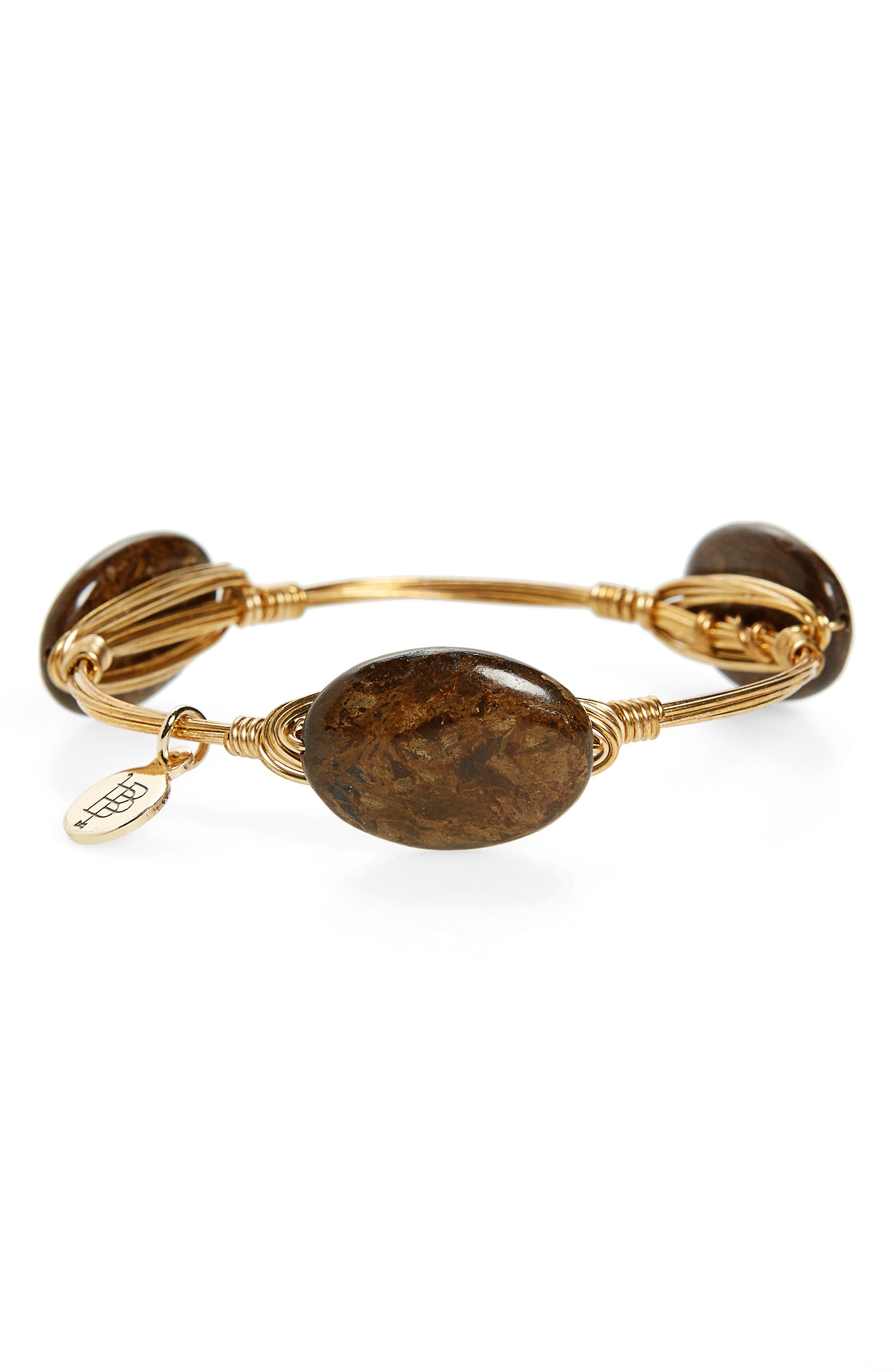 Main Image - Bourbon and Boweties Extra Small Stone Bracelet