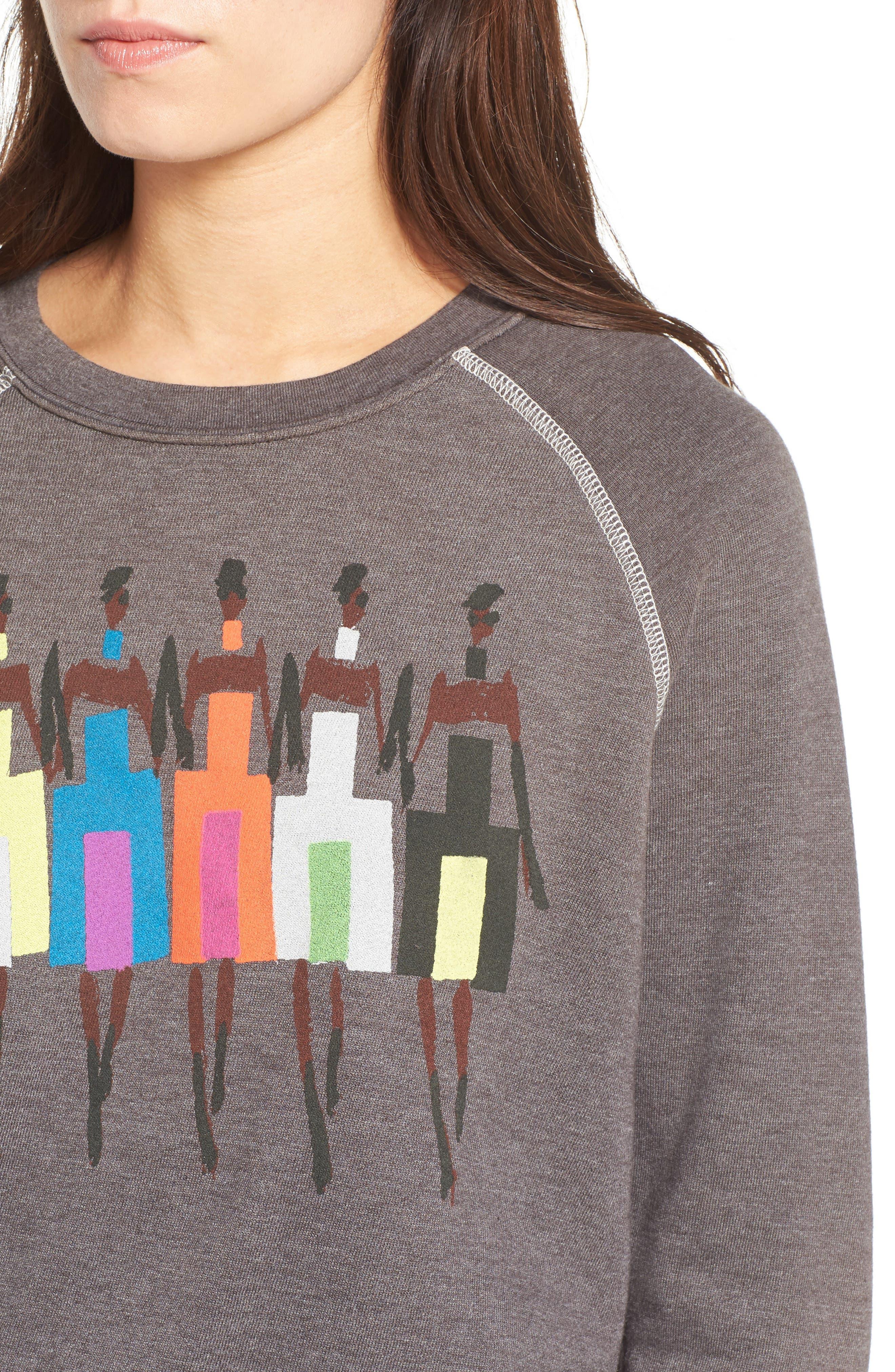Alternate Image 4  - Junk Food Donald Robertson Girls Sweatshirt