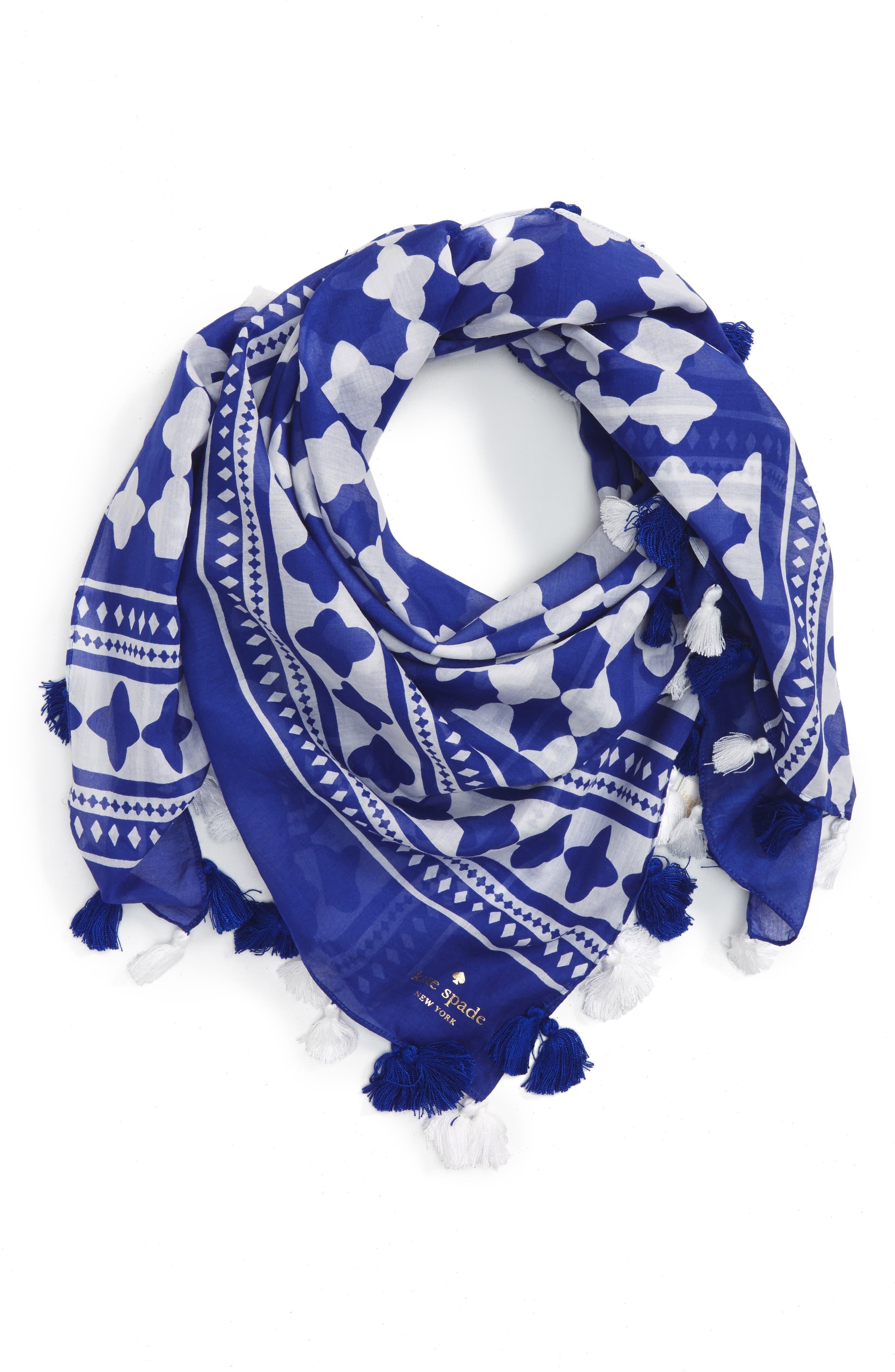 KATE SPADE NEW YORK lantern square scarf