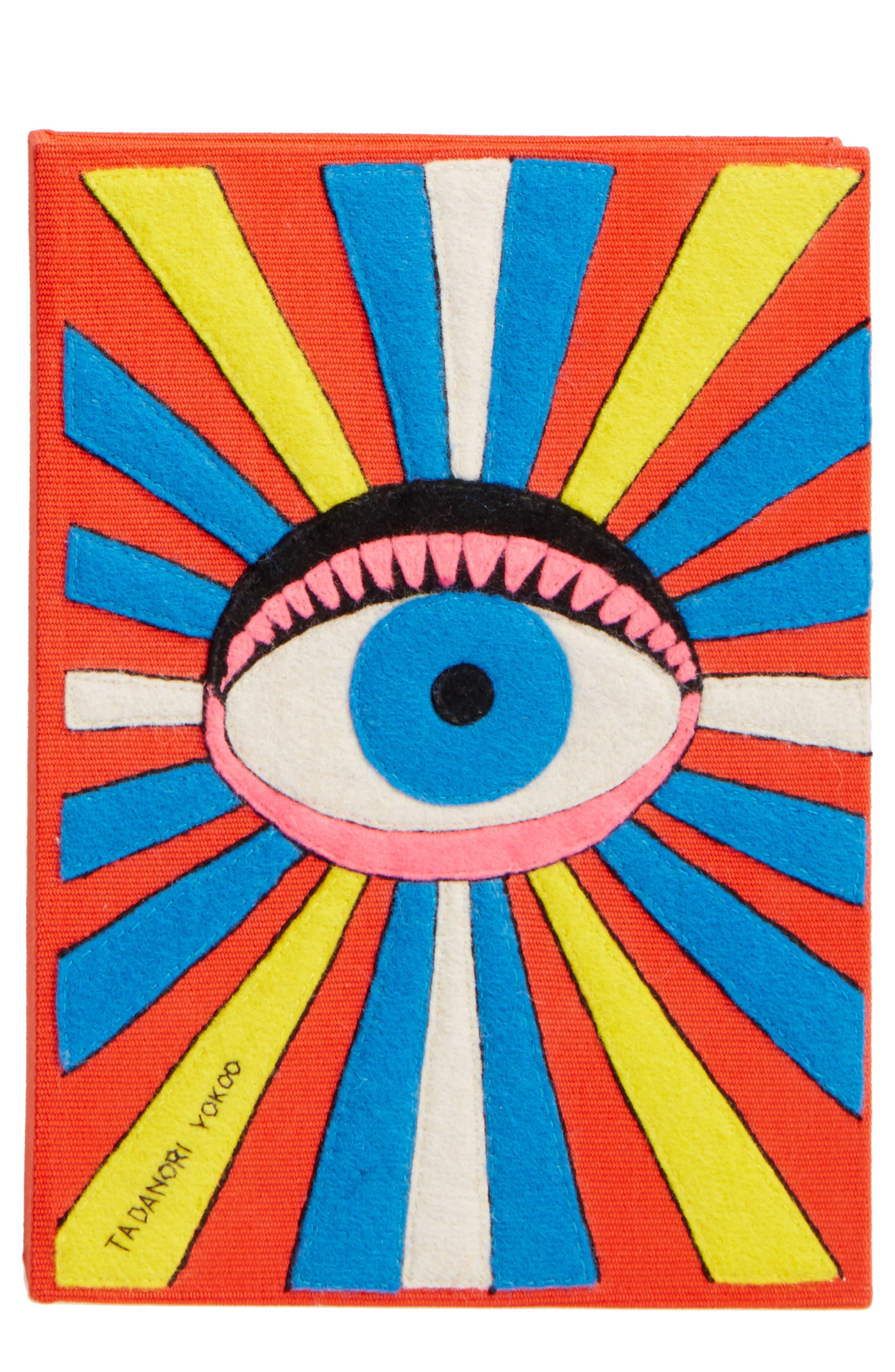 Olympia Le-Tan Tadanori Yokoo Book Clutch