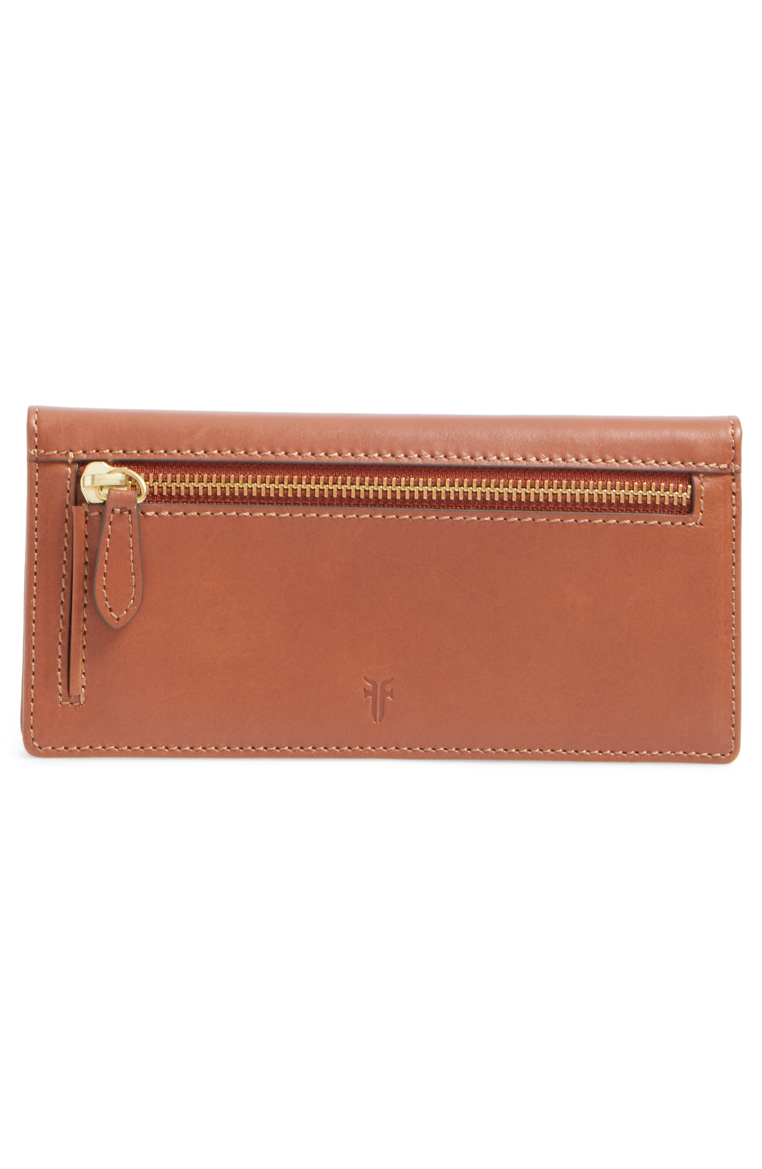 Alternate Image 4  - Frye Harness Leather Continental Wallet