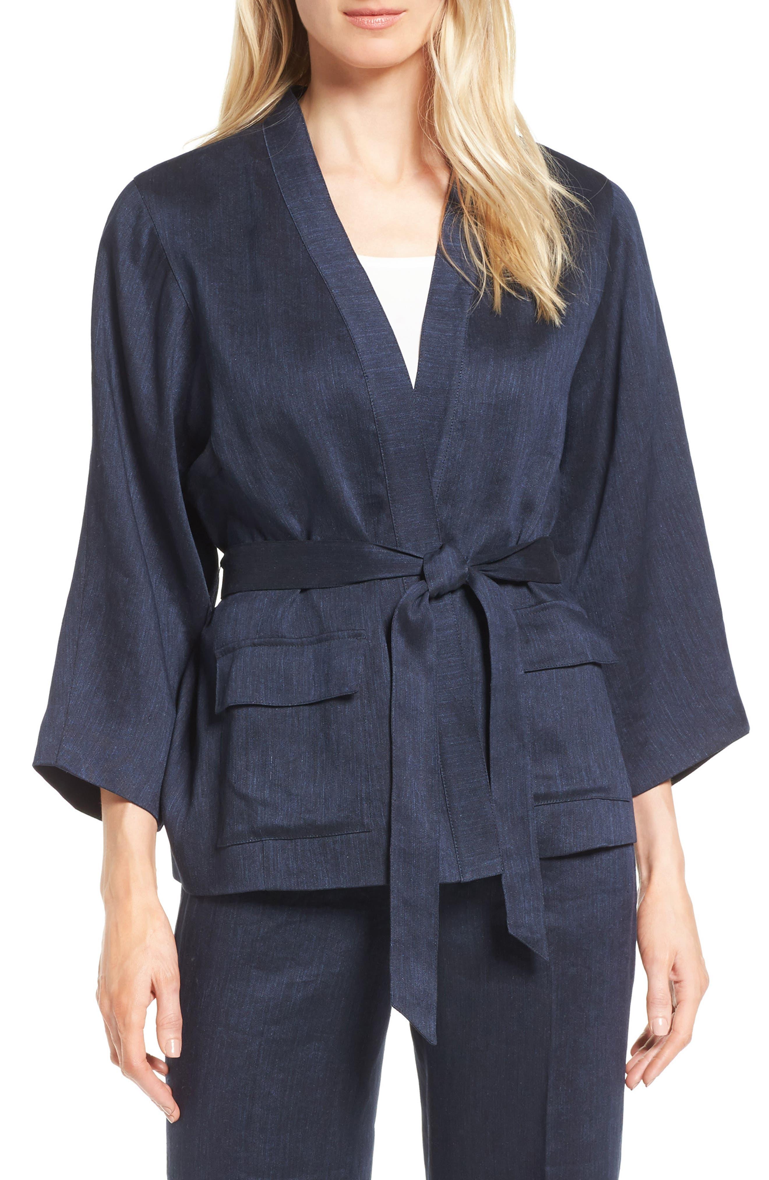 Classiques Entier® Belted Kimono Jacket
