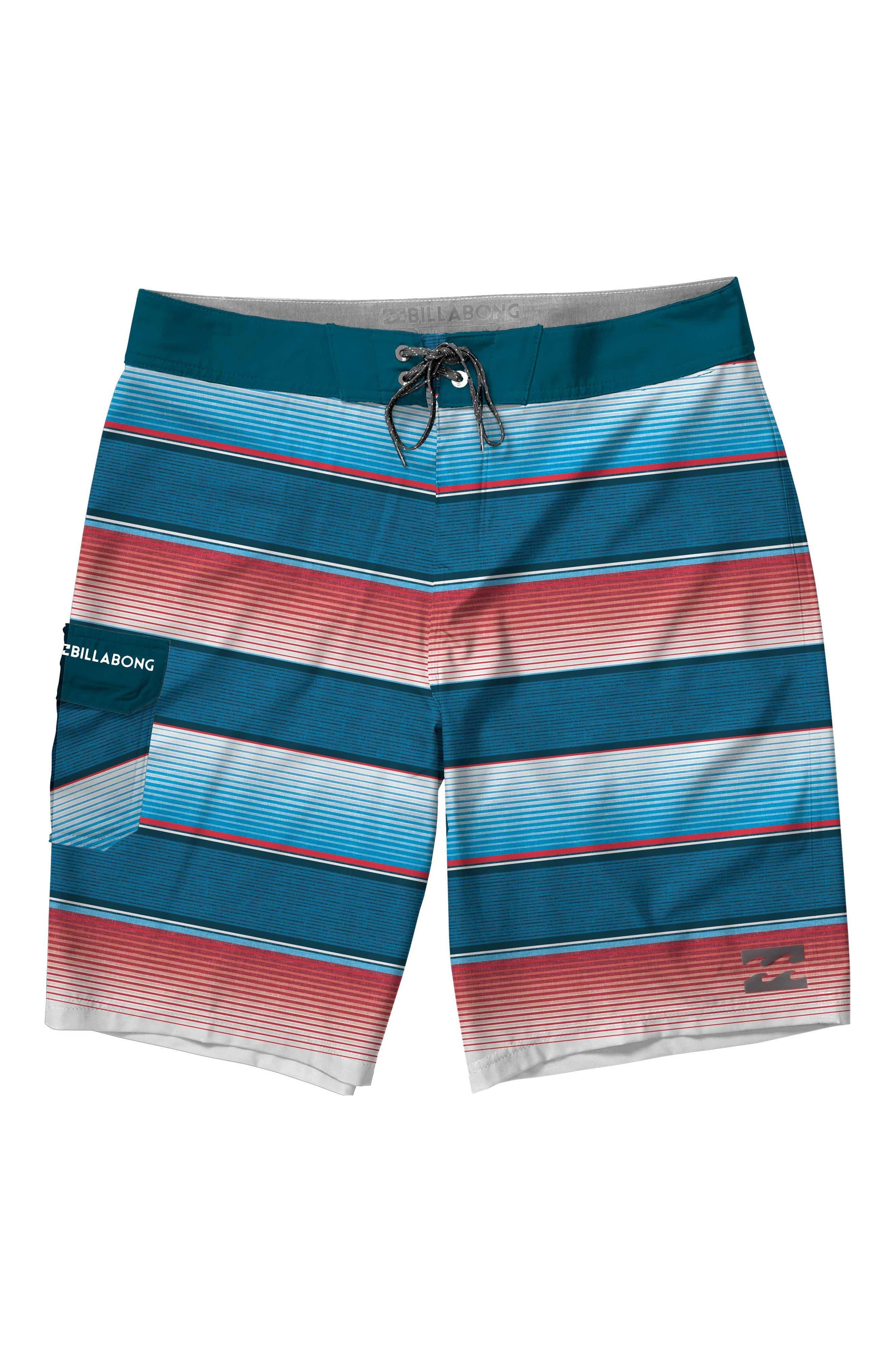 Billabong All Day Stripe Board Shorts (Toddler Boys & Little Boys)
